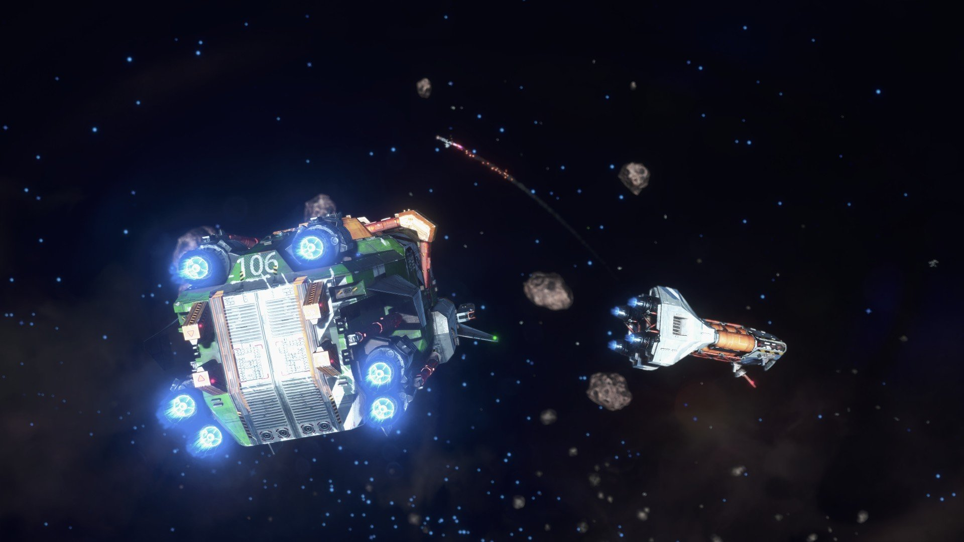 How to use Warp in Rebel Galaxy Outlaw