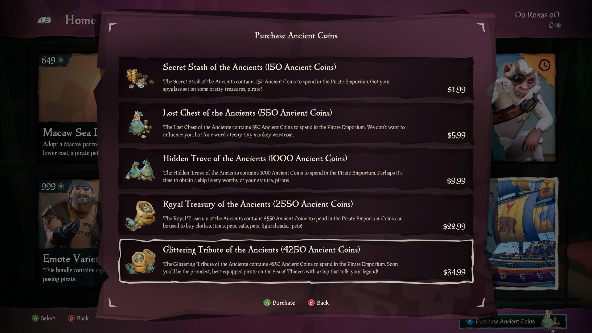Pirate Emporium Ancient Coins prices