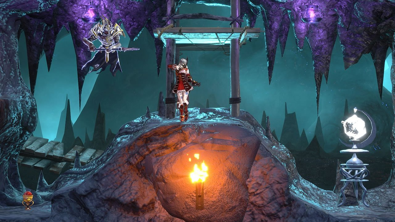 Bloodstained: Ritual of the Night gameplay