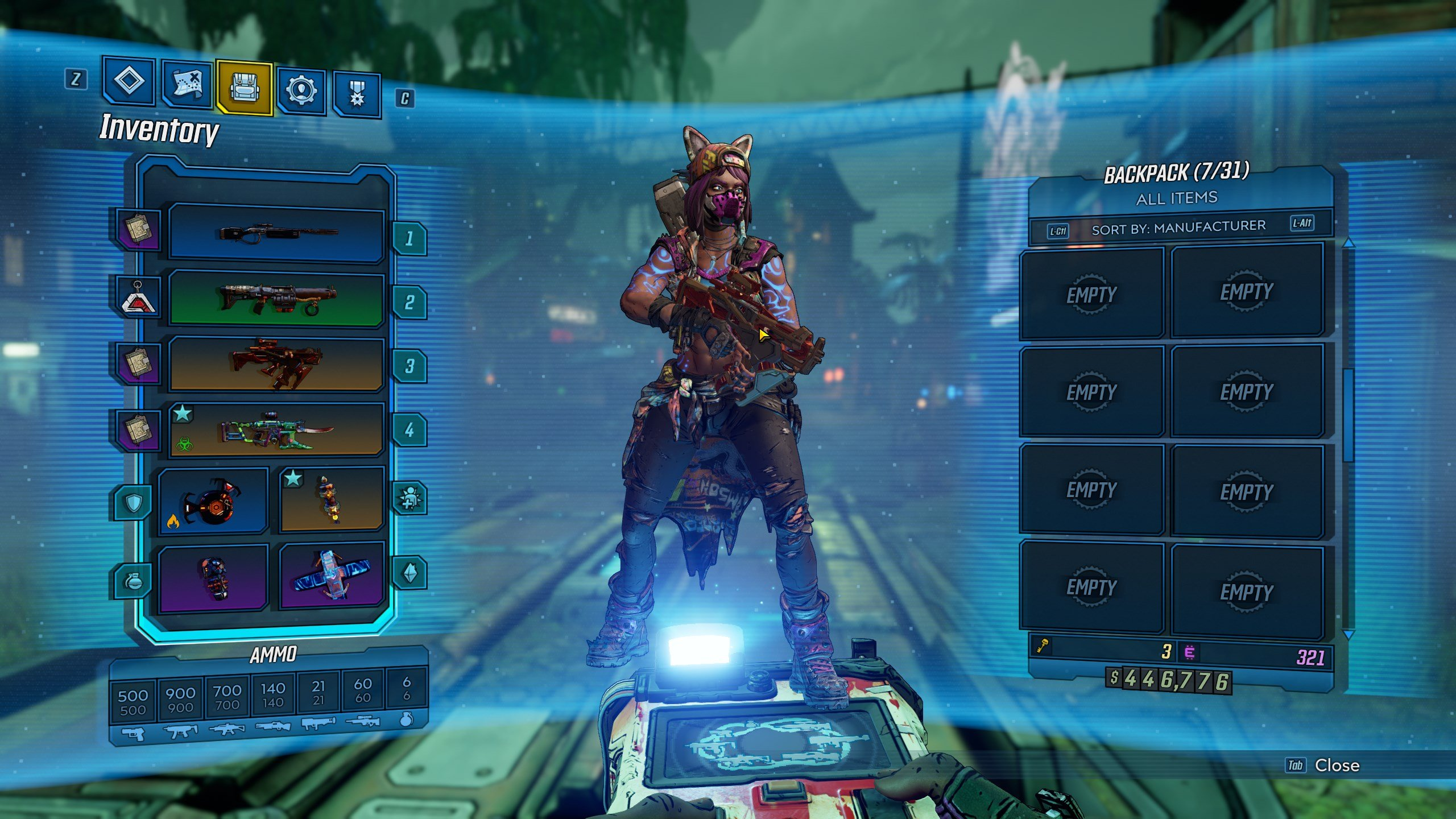 Borderlands 3 - how to unlock new weapon slots