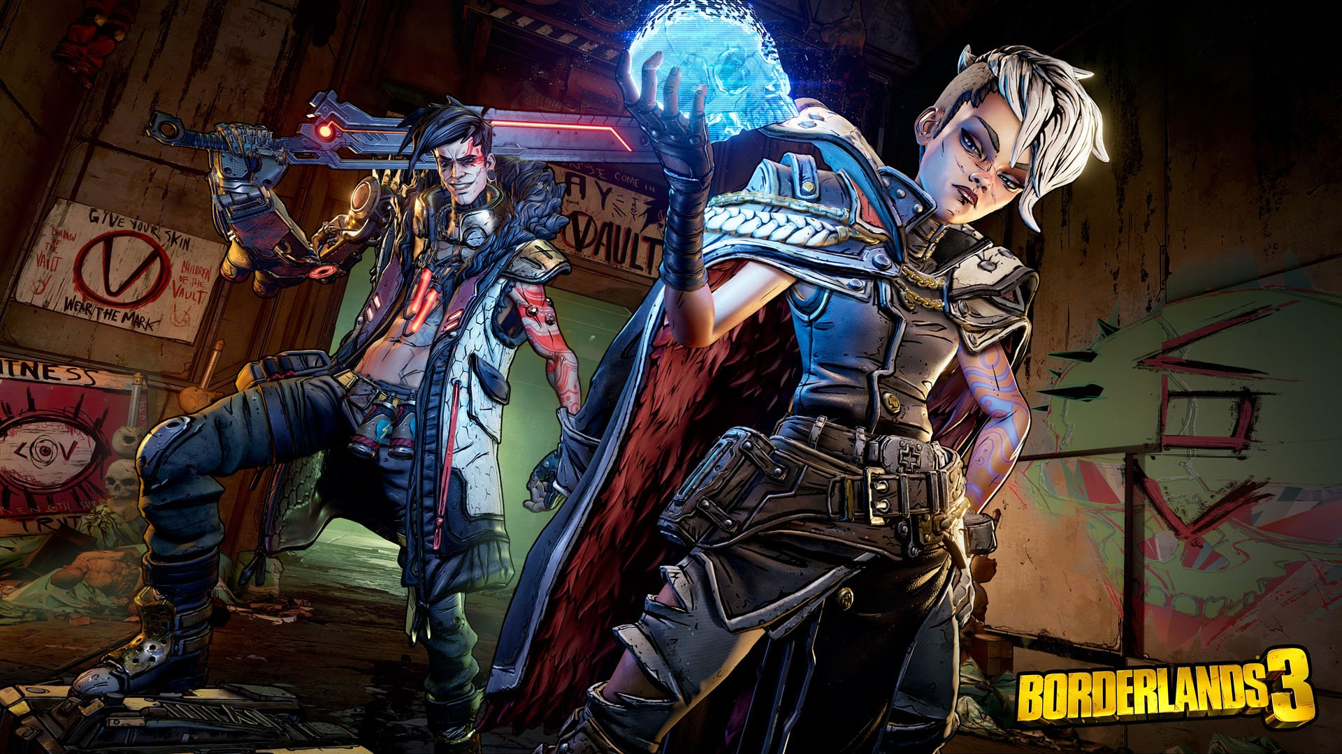 Borderlands 3 - the Calypso Twins