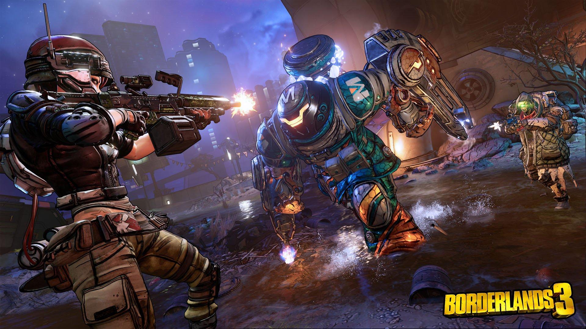 Borderlands 3 - combat