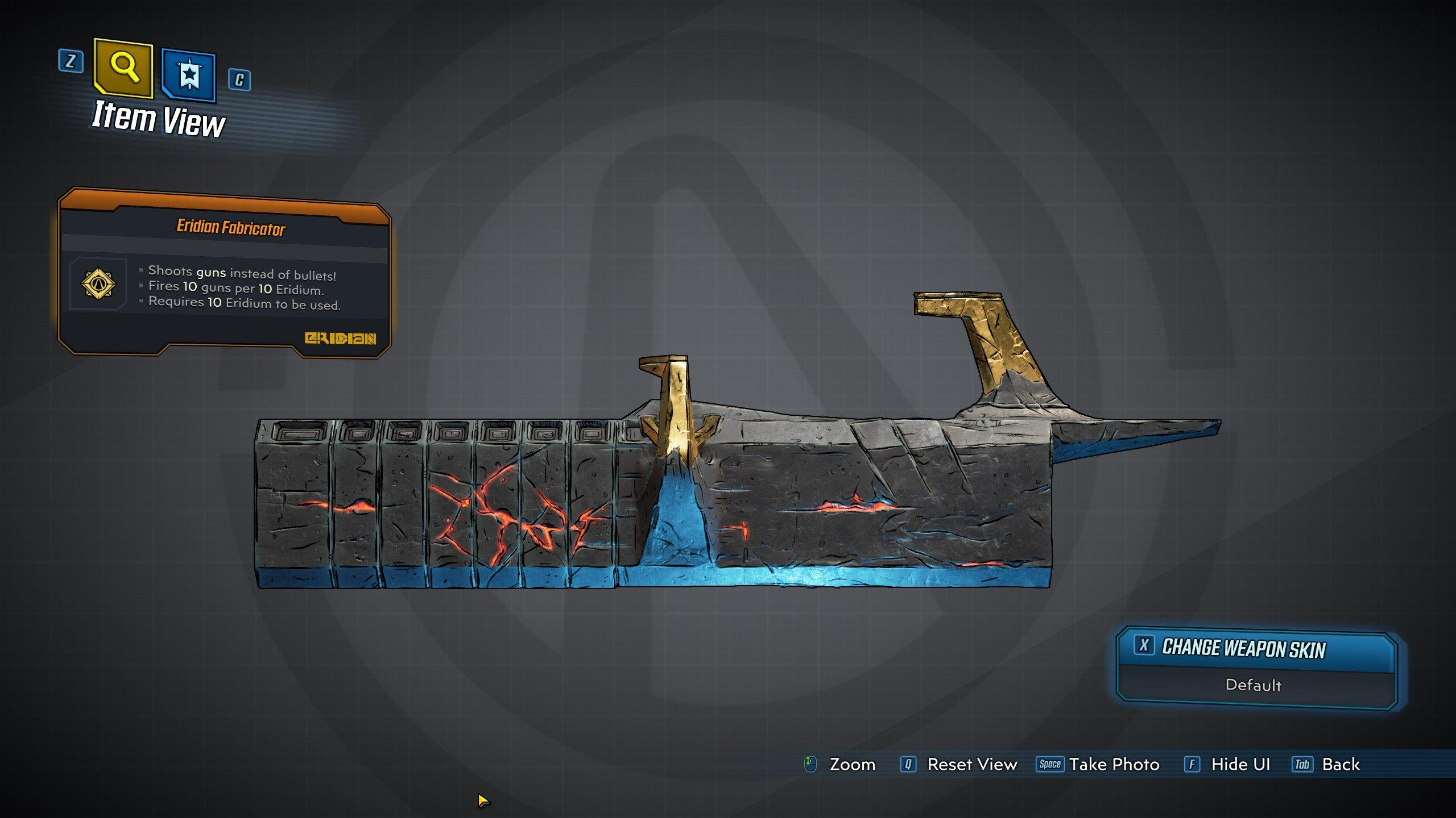 Borderlands 3 - Eridian Fabricator