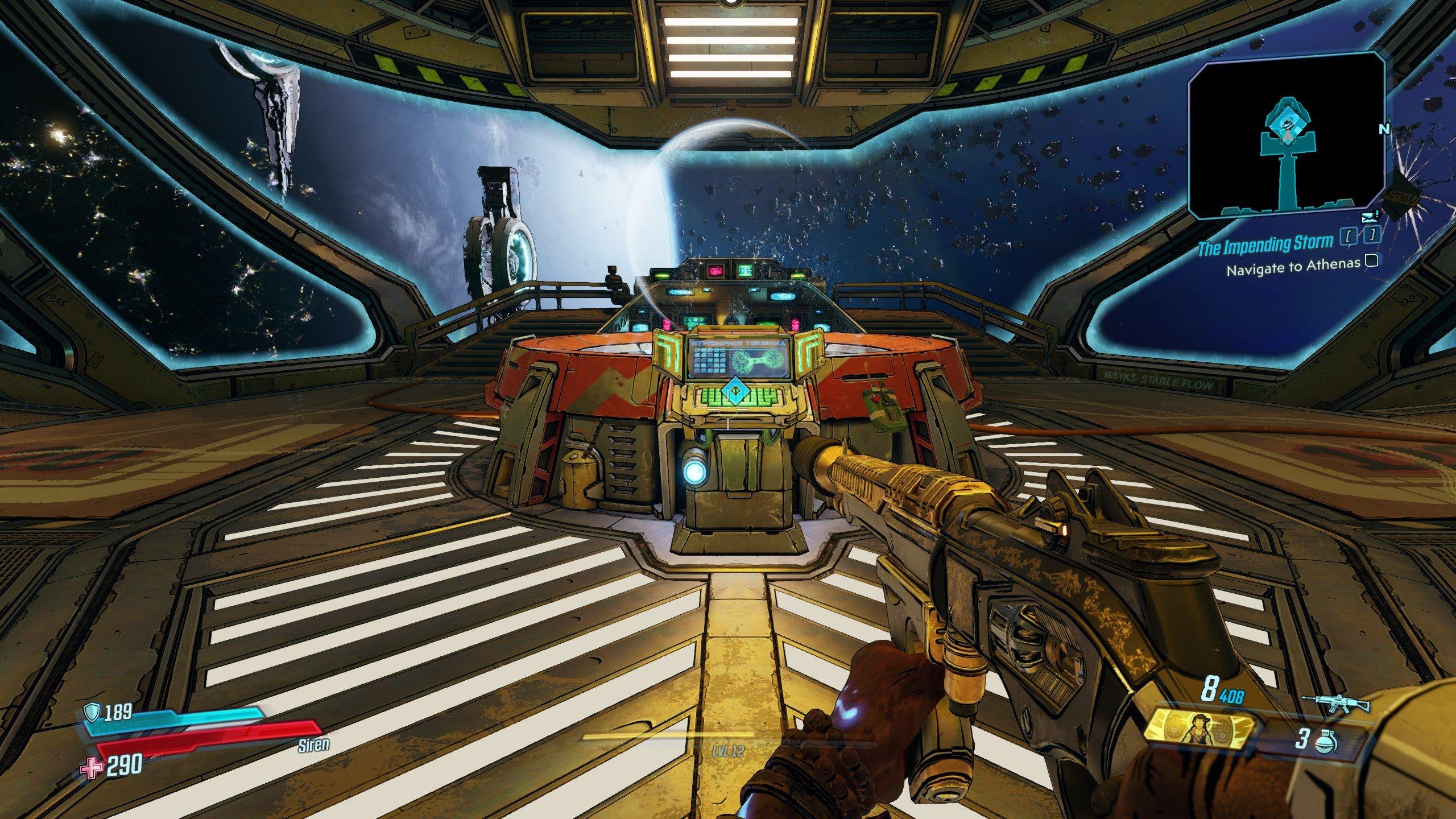 Borderlands 3 - bridge console