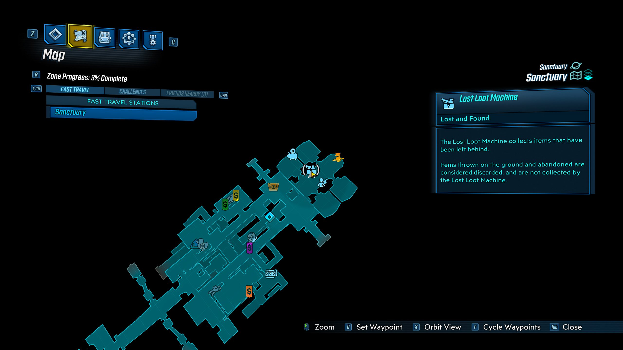 Borderlands 3 - Lost Loot machine location