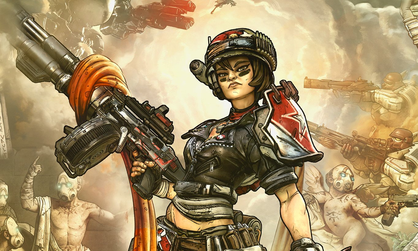 Borderlands 3 - Moze the Gunner