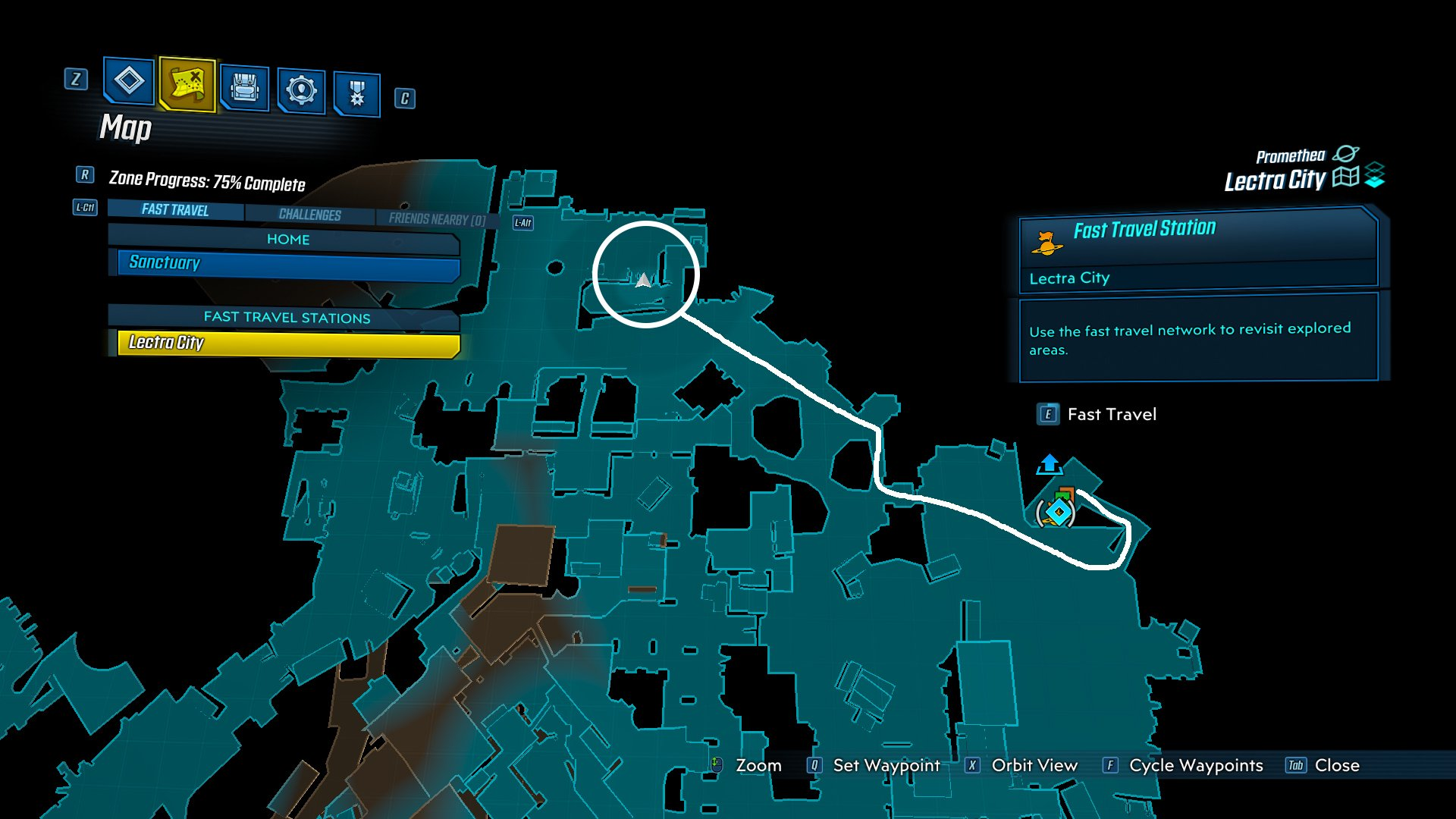 Borderlands 3 Rick and Morty gun map