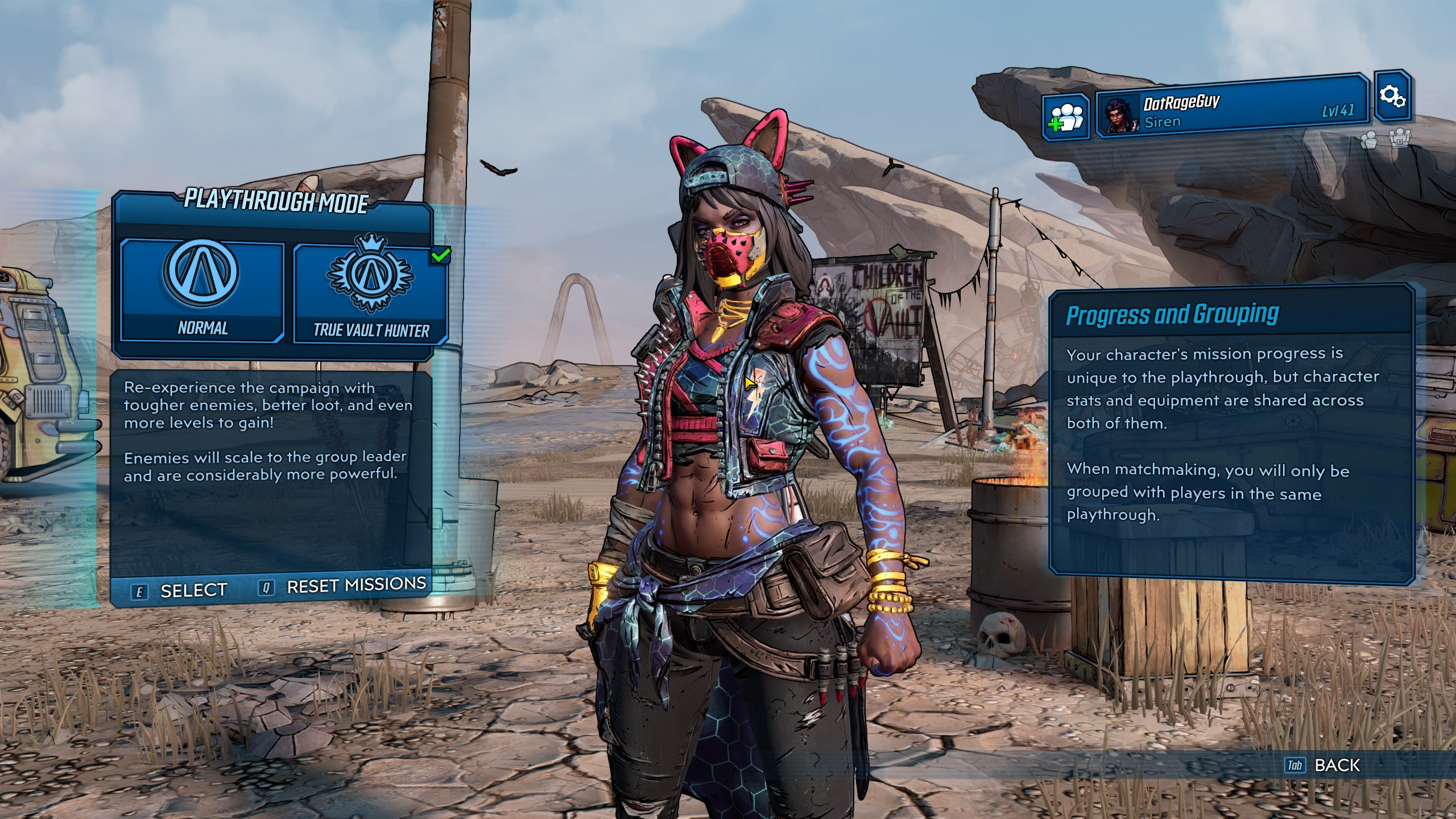 Borderlands 3 - True Vault Hunter Mode