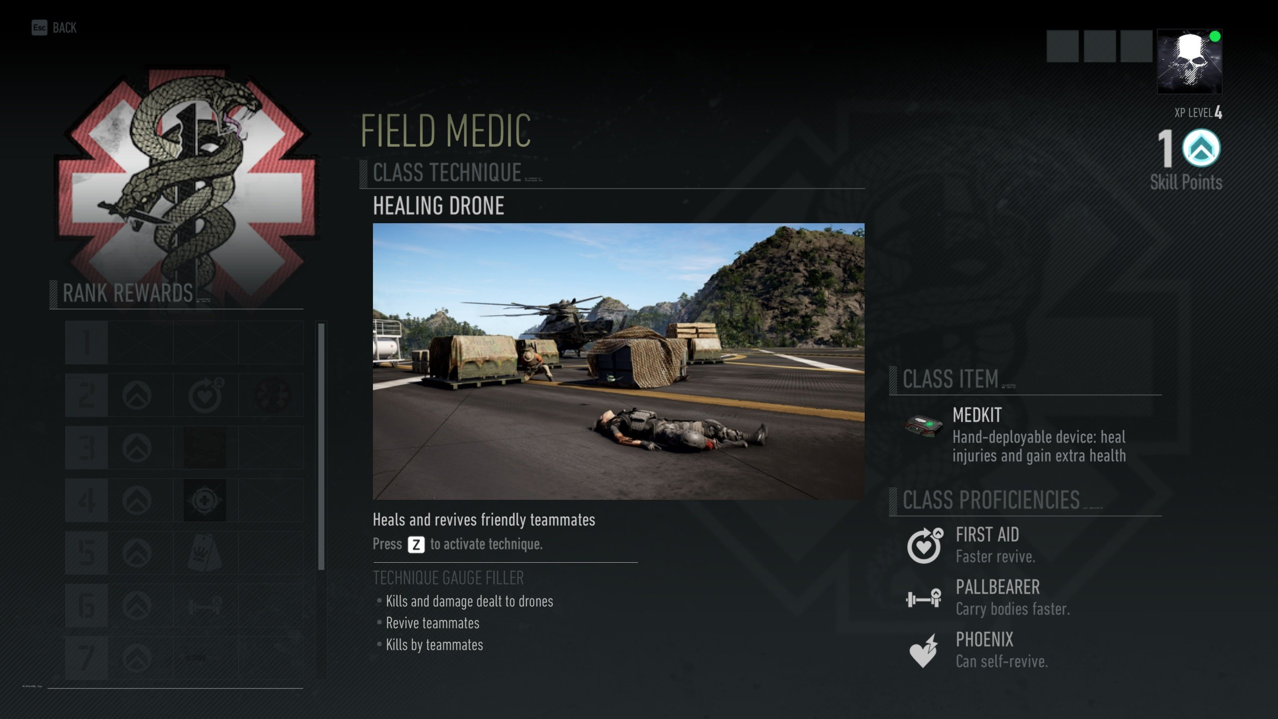Ghost Recon Breakpoint - Field Medic class