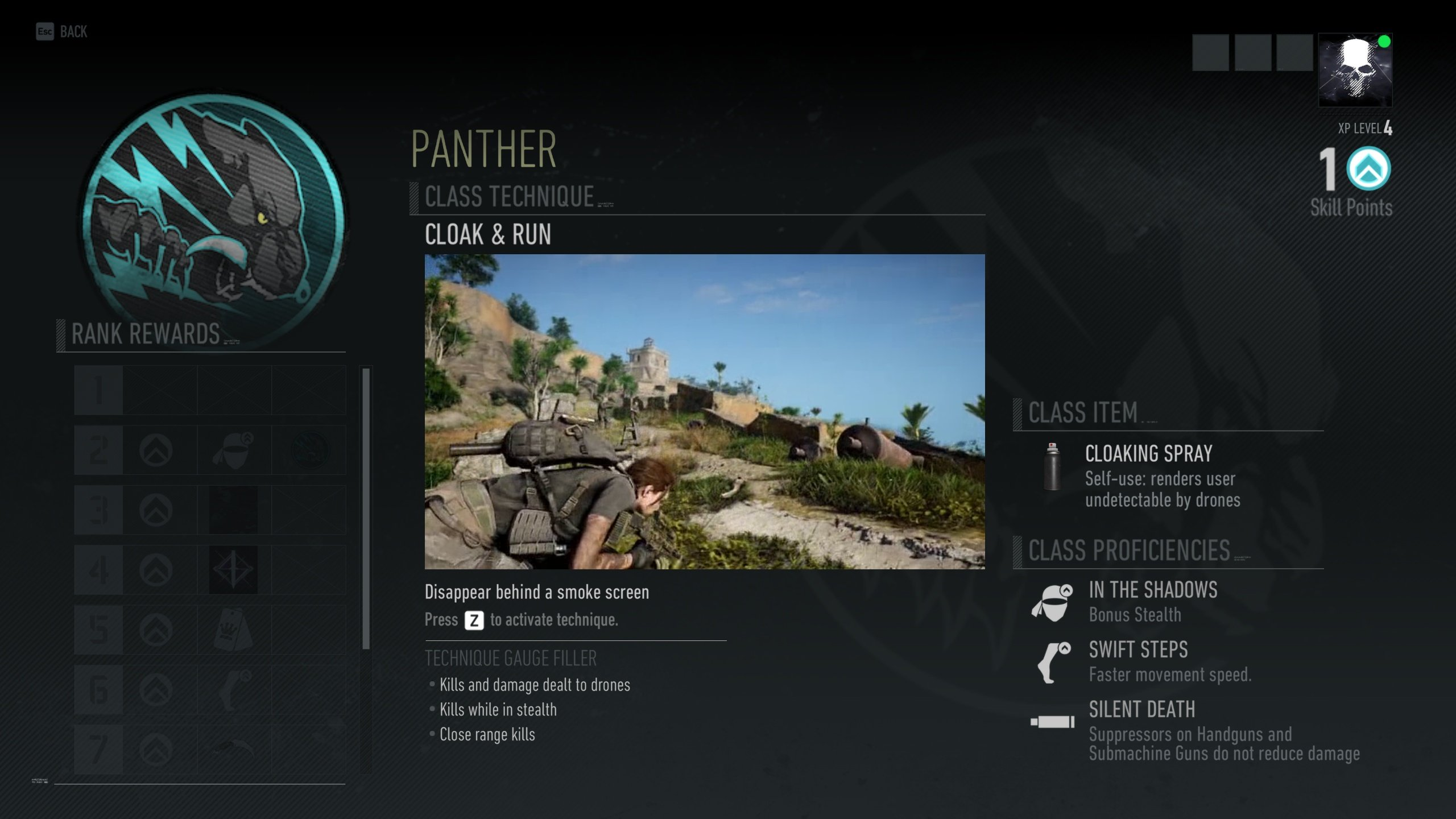 Ghost Recon Breakpoint - Panther class