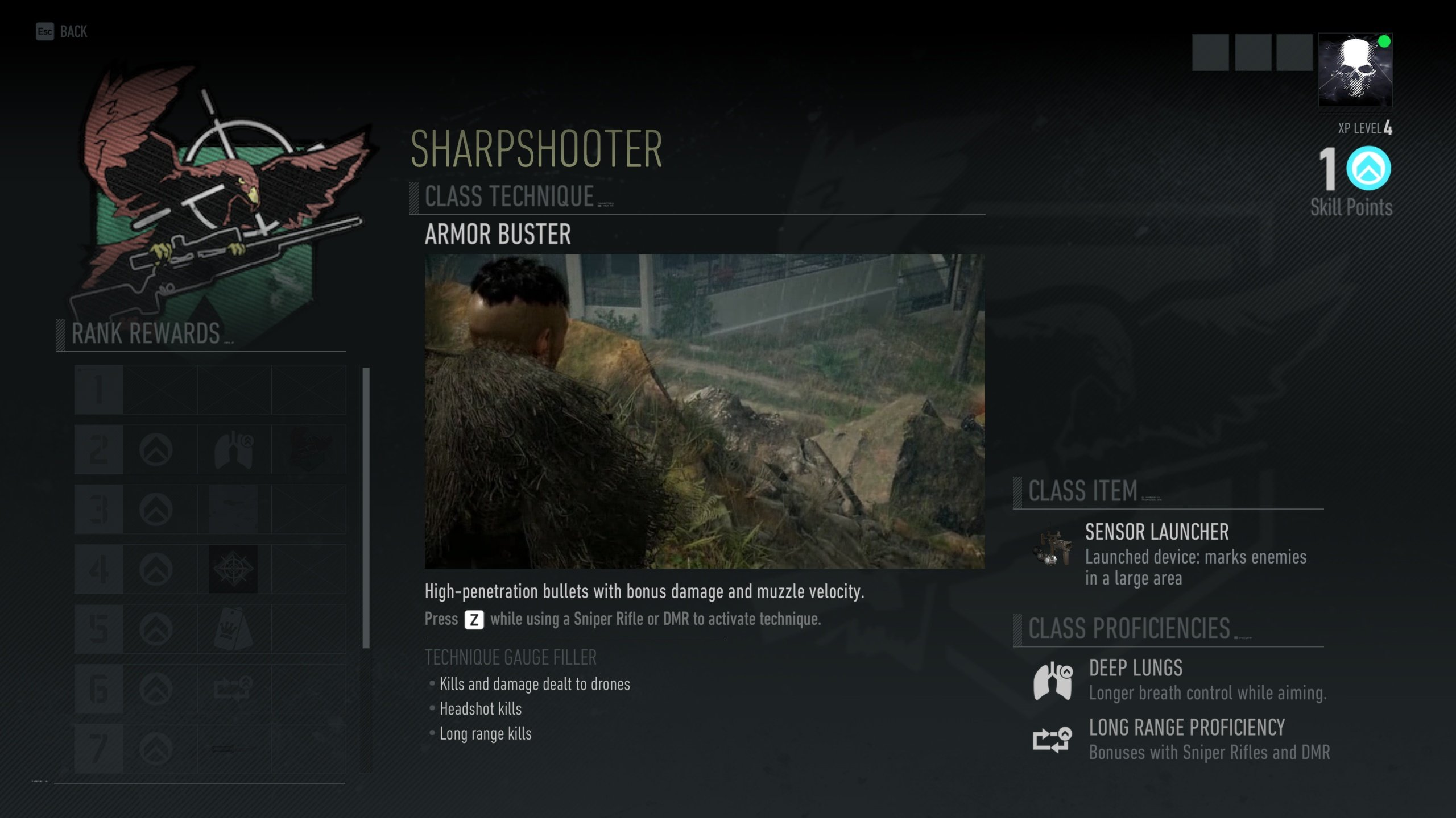 Ghost Recon Breakpoint - Sharpshooter class