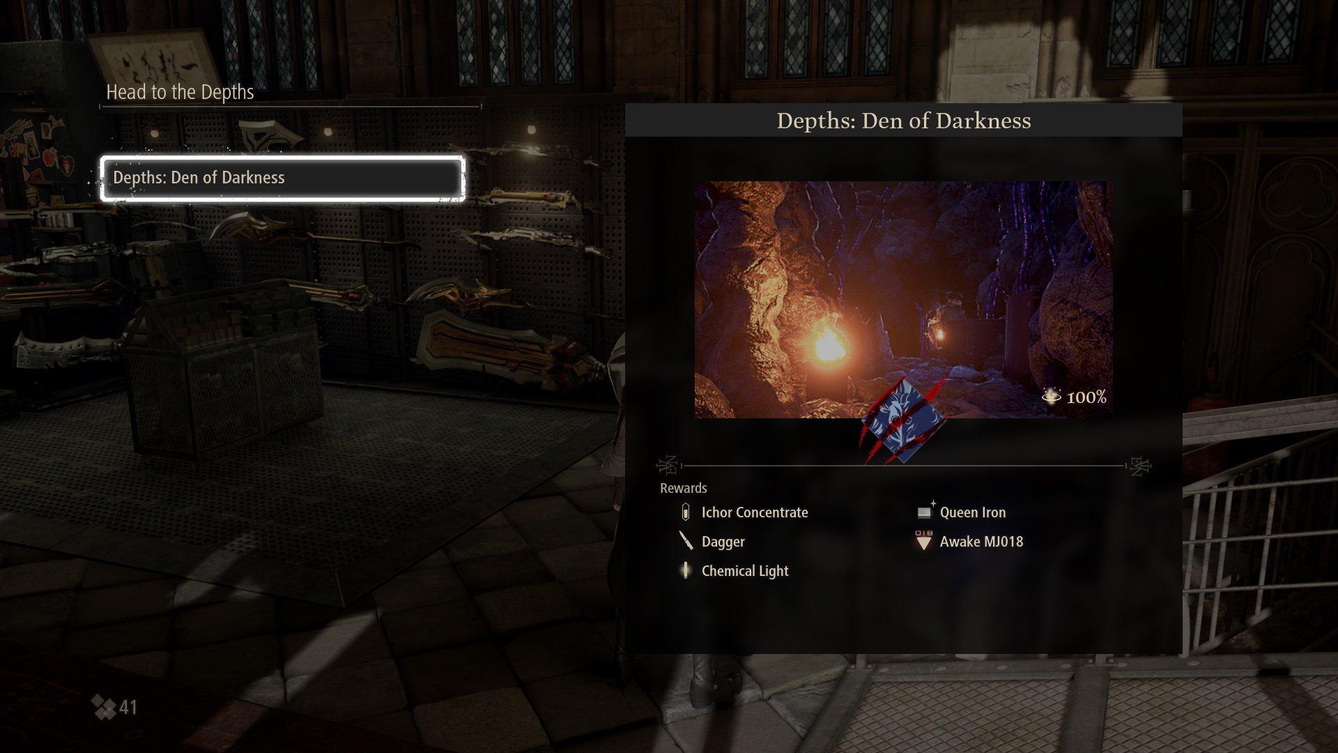 Code Vein dungeons