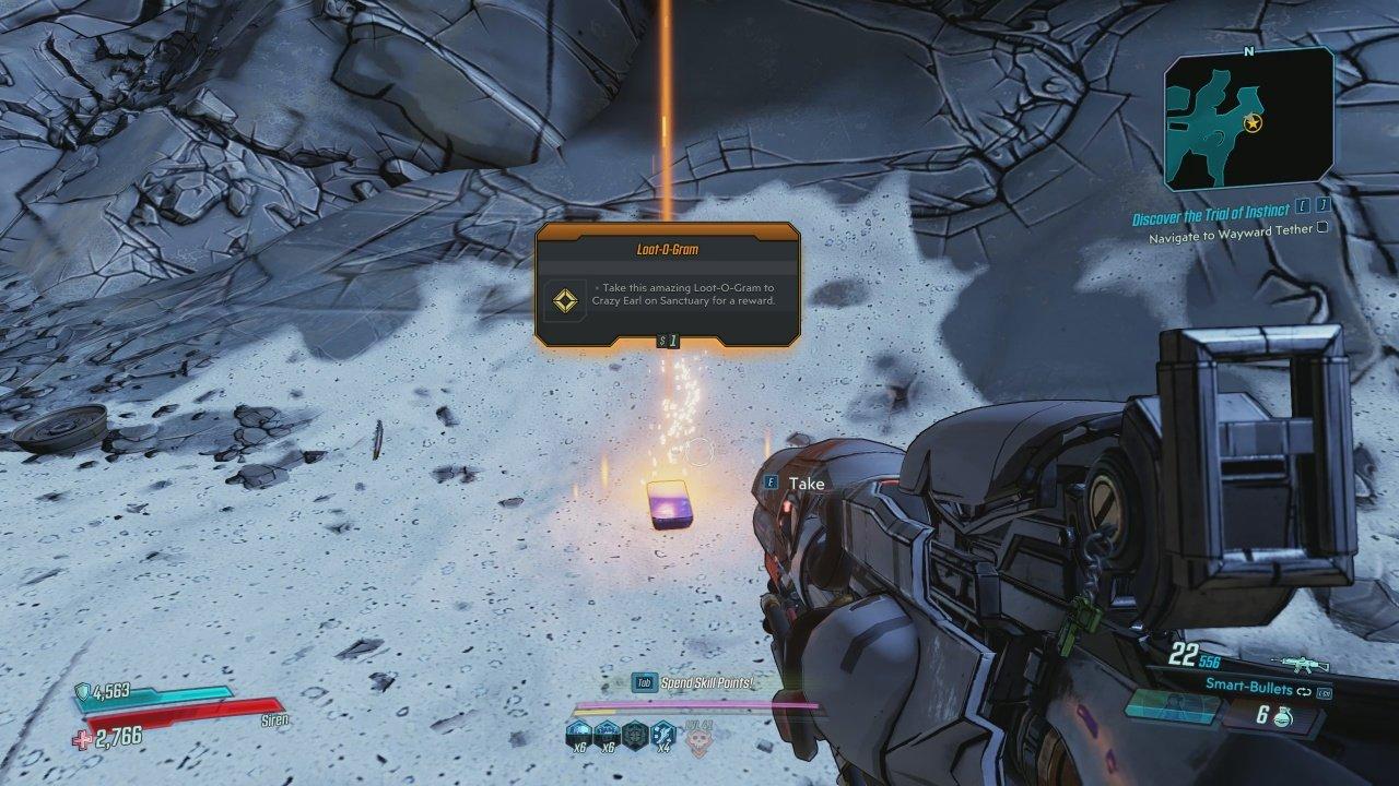 Destiny Easter Egg - Loot-O-Gram in Borderlands 3