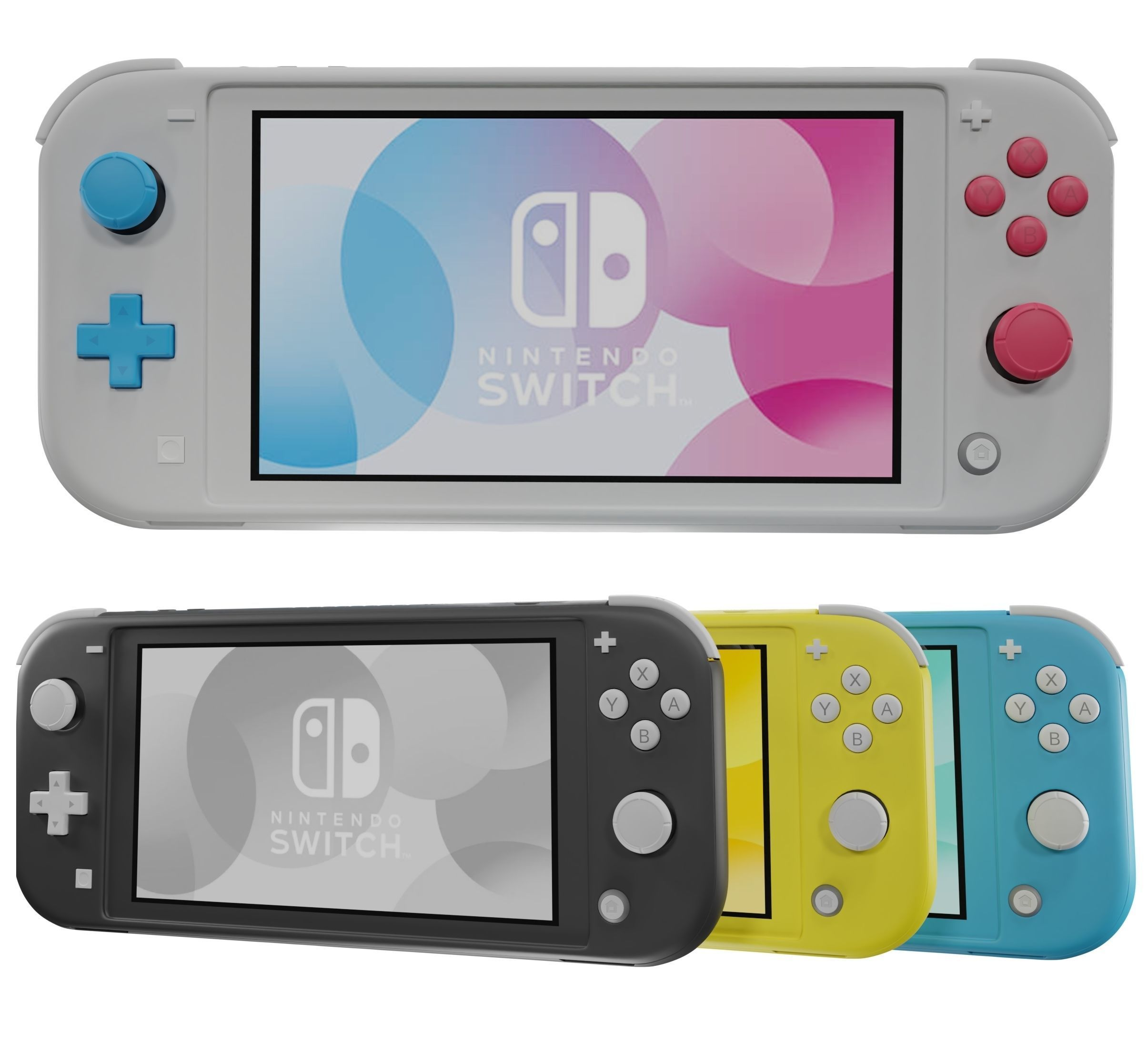 Does the Nintendo Switch Lite have a D-Pad?