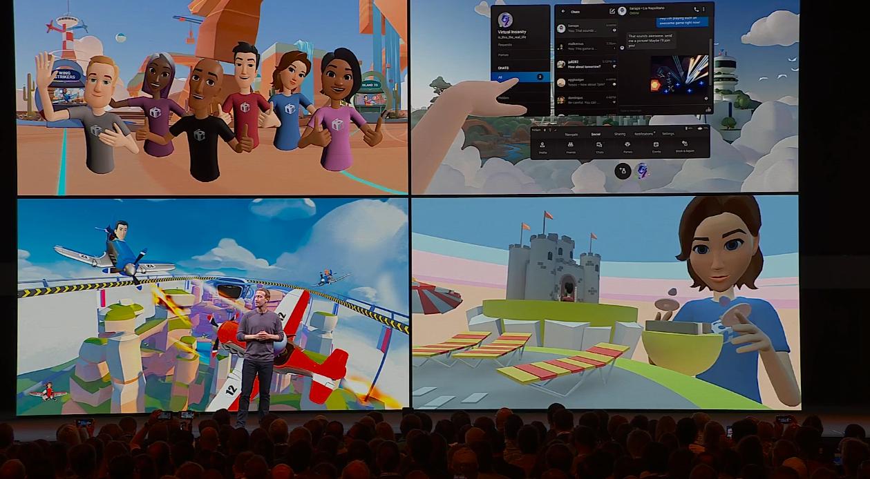 Facebook Horizon announced at Oculus Connect 6