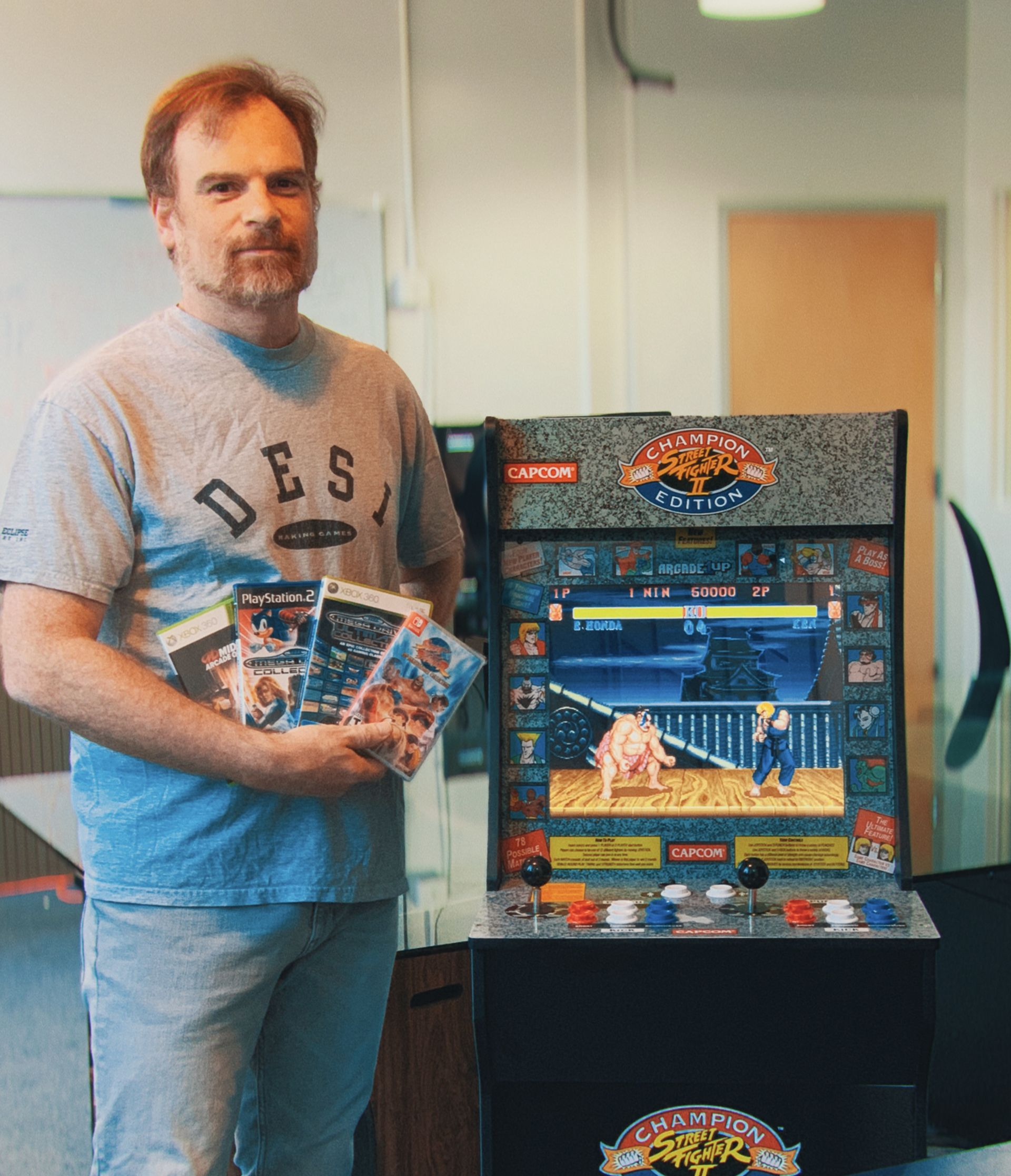Daniel Filner, emulation programmer for Street Fighter 30th Anniversary Collection and Arcade1Up's SF2 cabinet.
