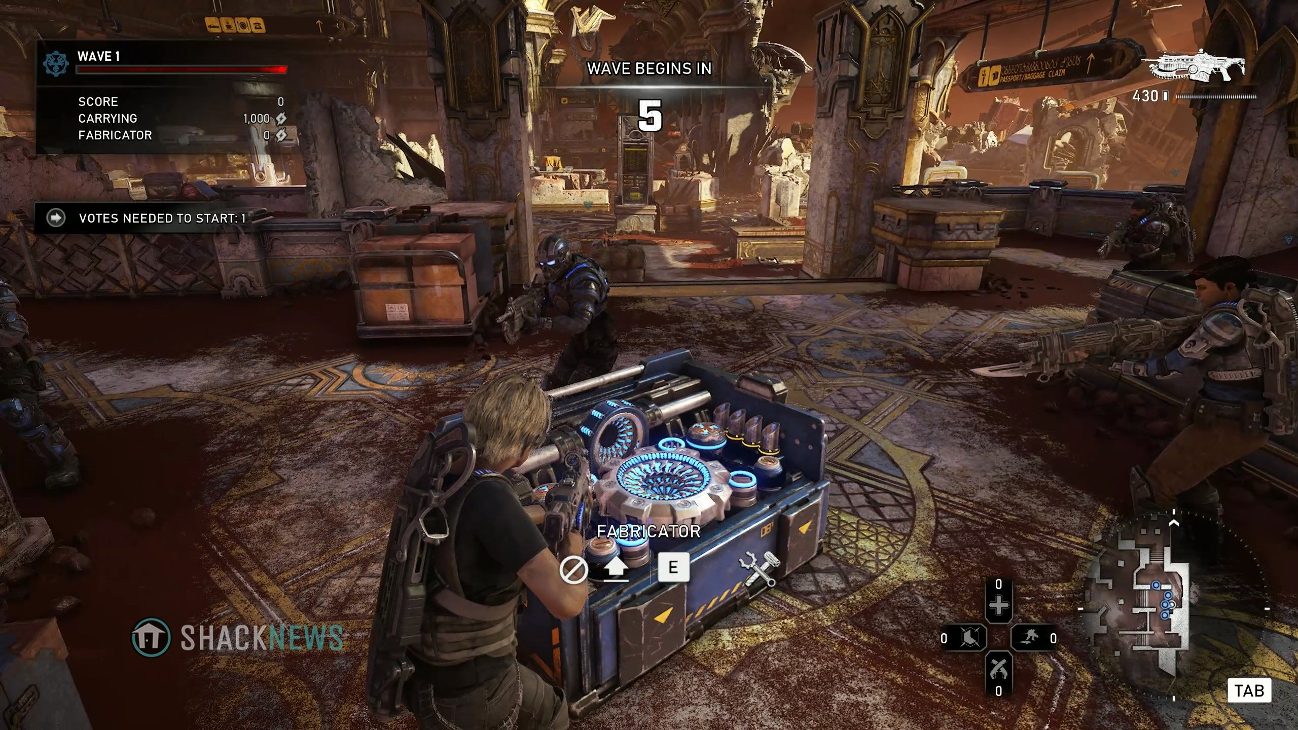 Fabricator placement in Gears 5 Horde mode is very important.