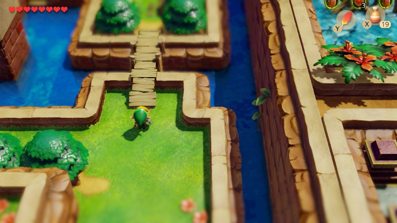 Link's Awakening - Bridge to Kanalet Castle