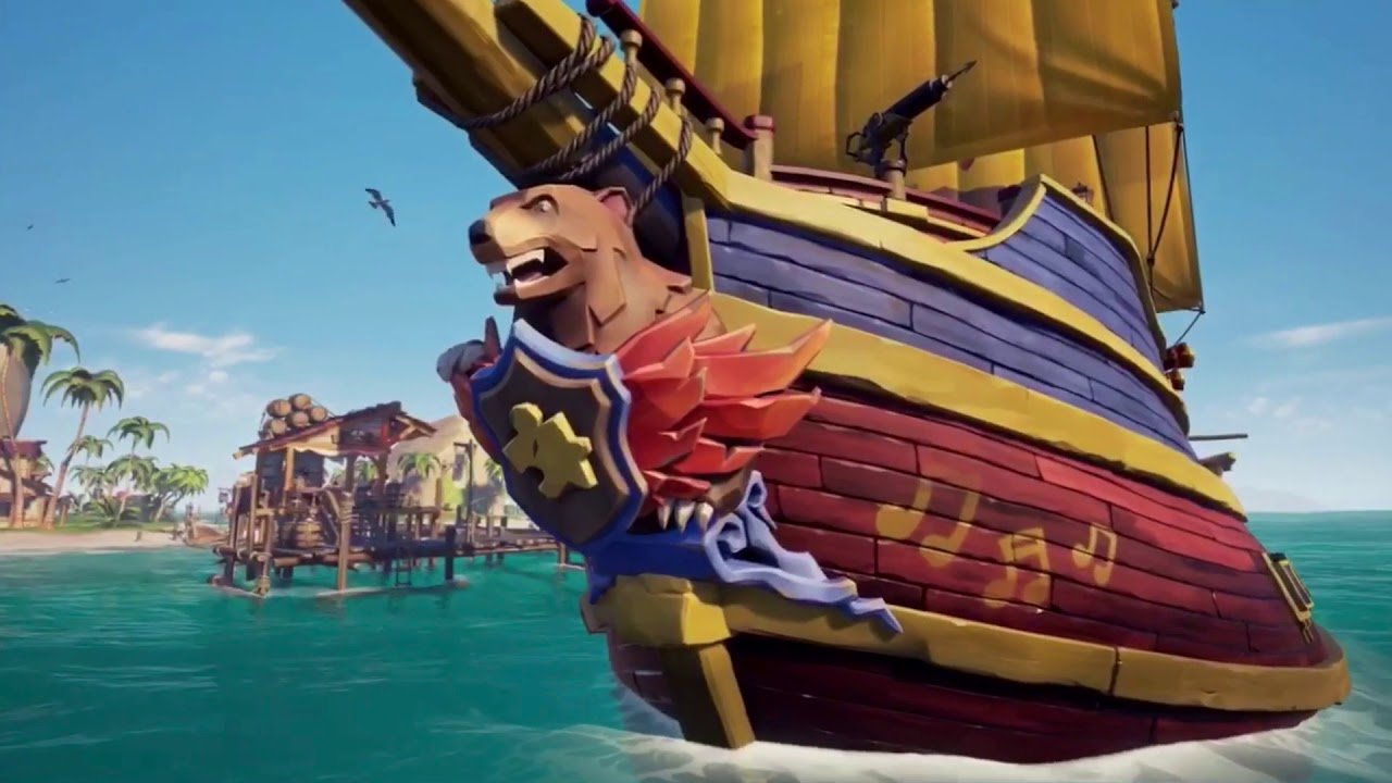 How to get the Banjo-Kazooie Ship in Sea of Thieves
