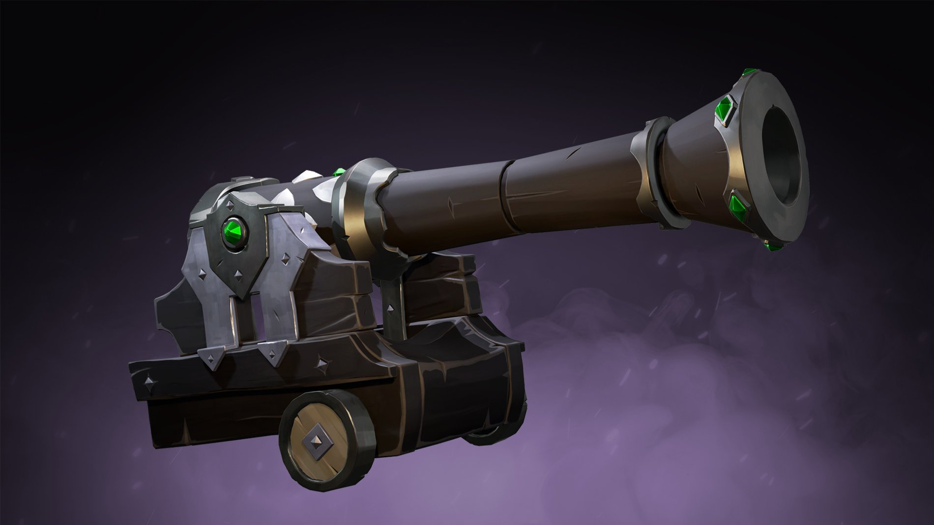 Sea of Thieves Obsidian cannons