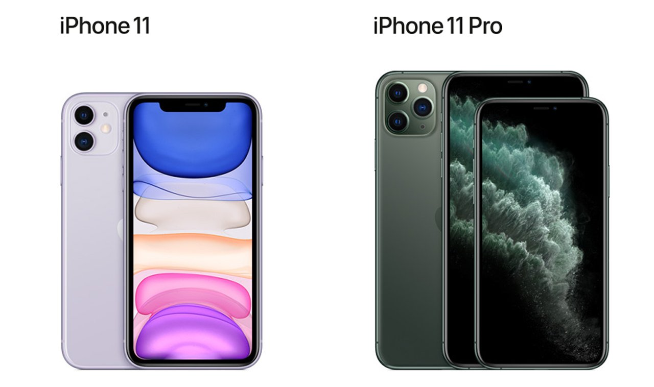 iPhone 11 and iPhone 11 Pro pre-order price