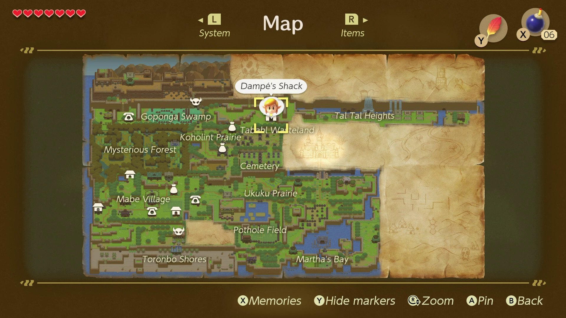 Where To Find Dampe And The Dungeon Editor Link S
