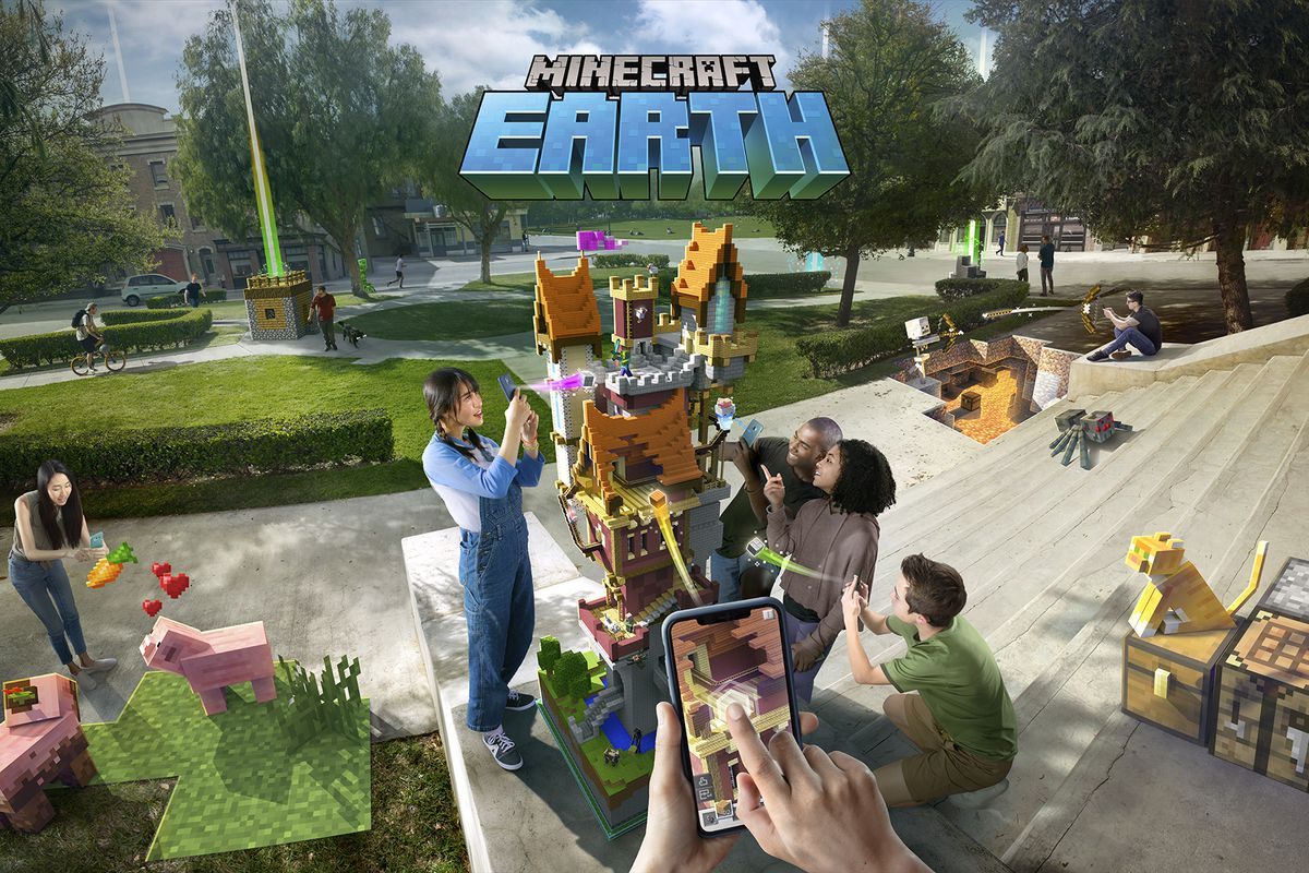 MineCon 2019 Minecraft Earth