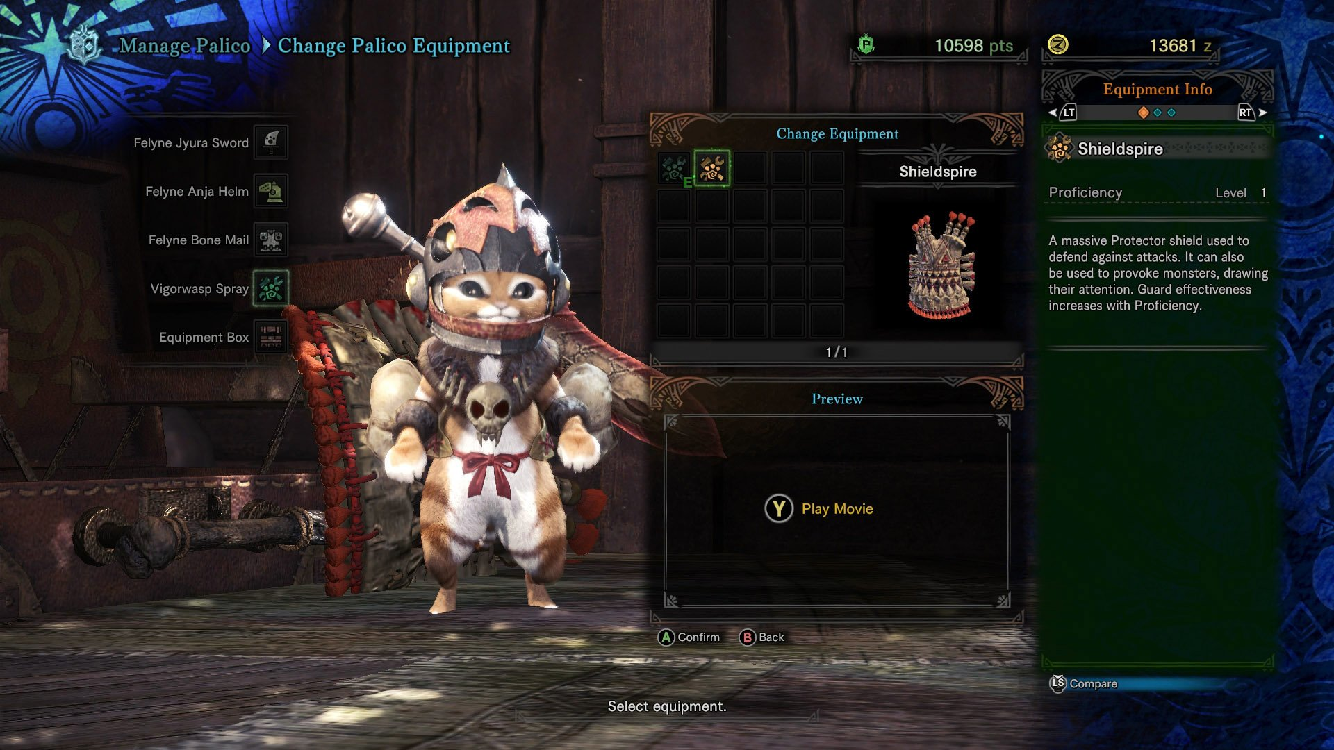 All Palico Gadgets Monster Hunter World