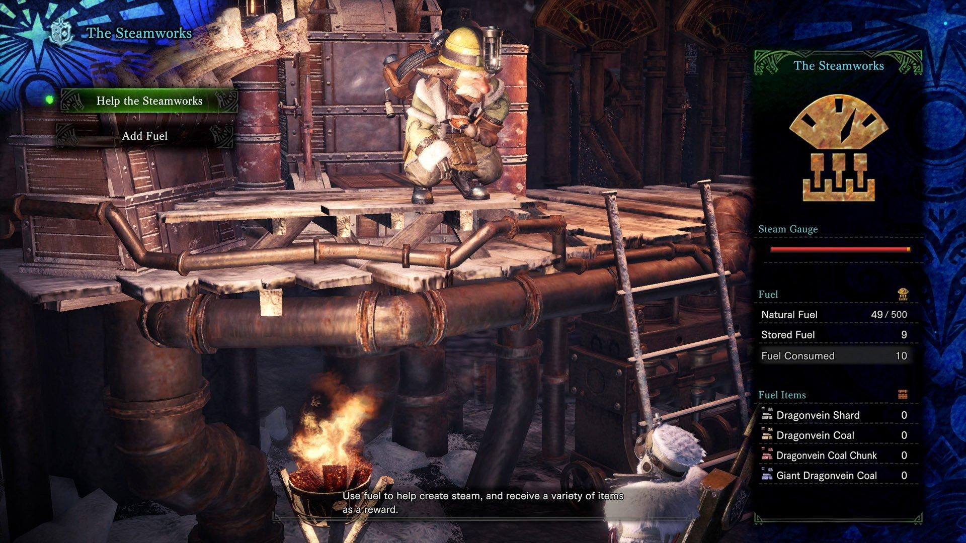 How to use Steamworks in Monster Hunter World: Iceborne
