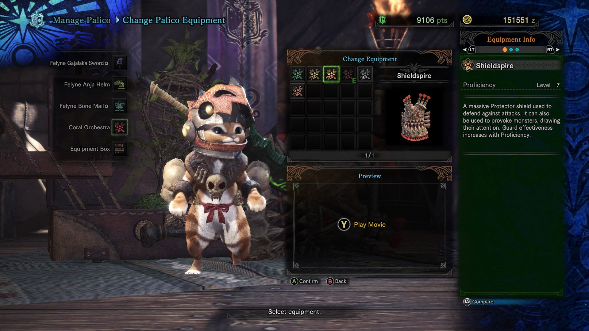 Shieldspire Monster Hunter World