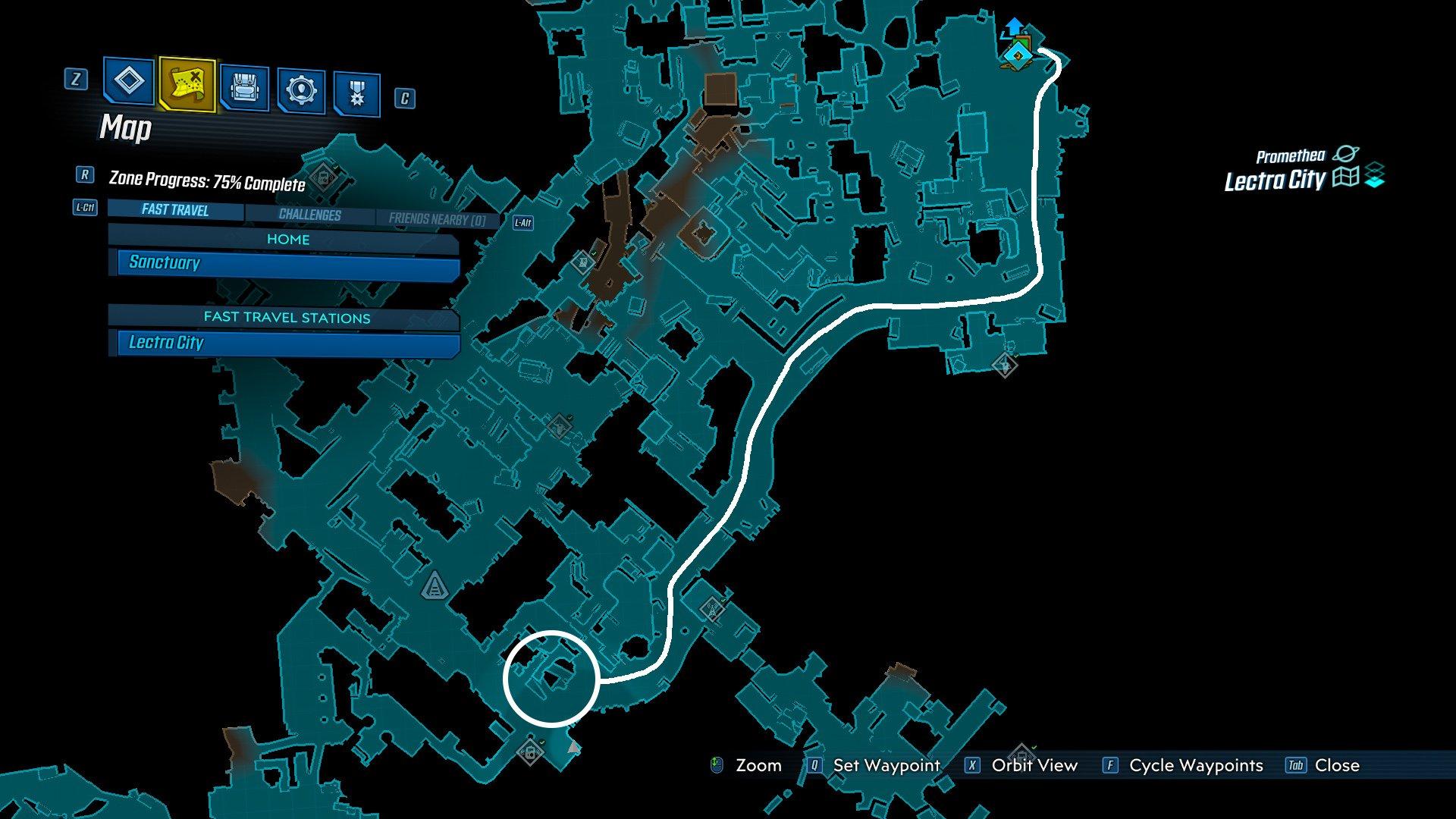 One Punch Man gun Borderlands 3 map