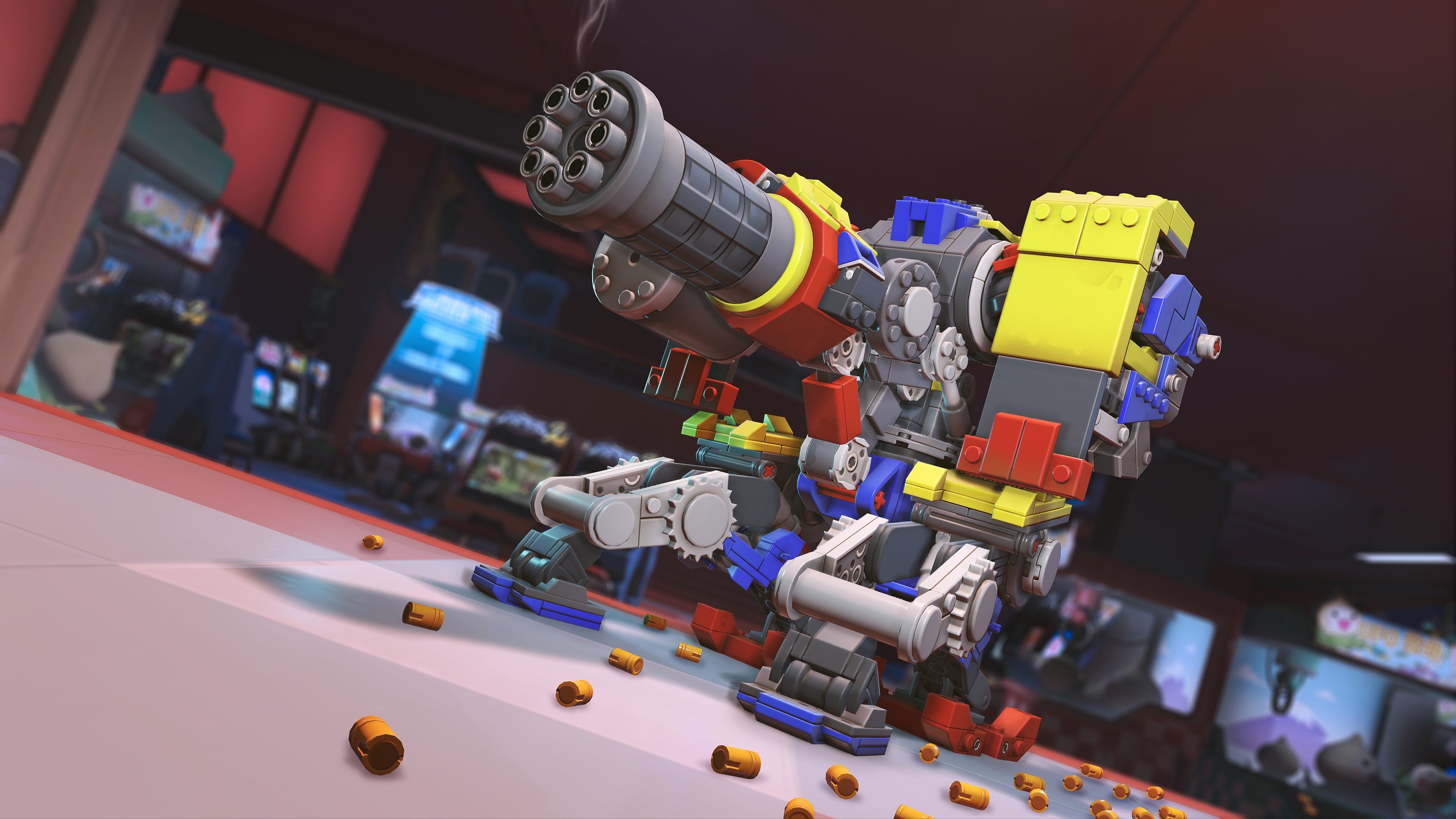Overwatch - LEGO Bastion