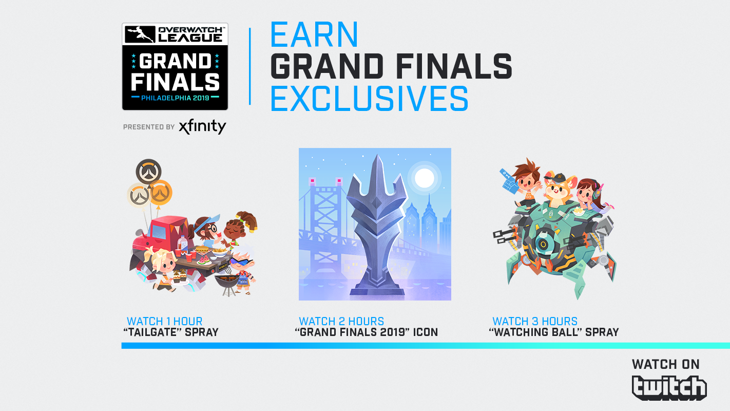 Overwatch League Grand Finals Twitch Drops