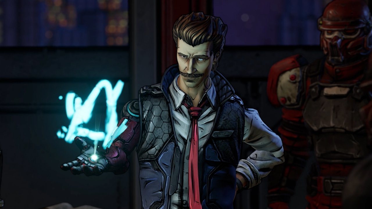 Borderlands 3 - Rhys with mustache