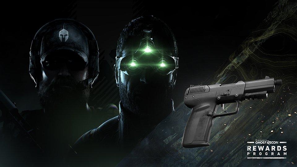 Sam Fisher 5.7 Exoti Handgun Ghost Recon Breakpoint