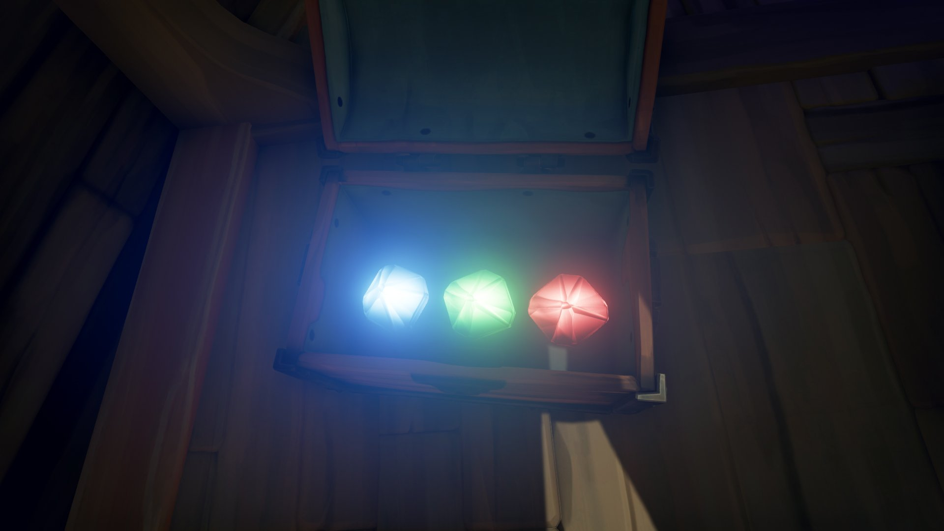 Sea of Thieves open chest