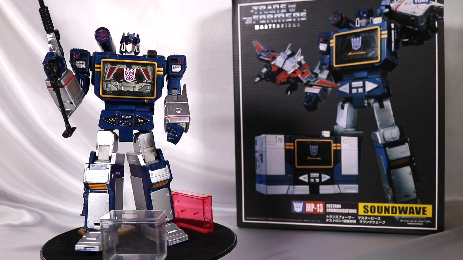 Transformers Soundwave Masterpiece MP-13