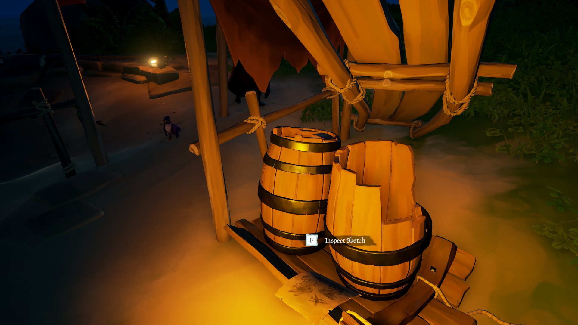 Stitcher Jims beloved sketch barrels Sea of Thieves