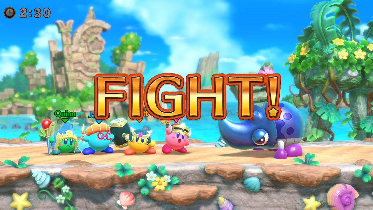 Super Kirby Clash revealed