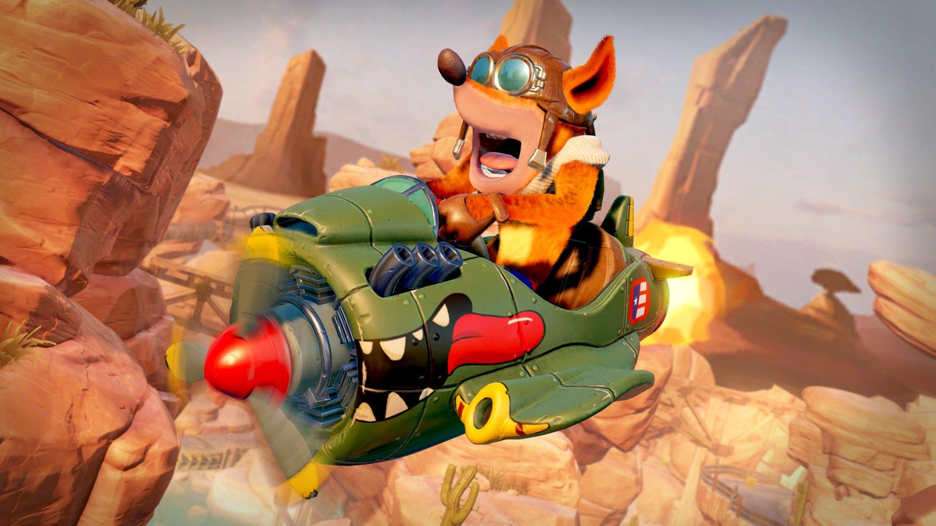 Crash Team Racing Nitro Fueled Firehawk