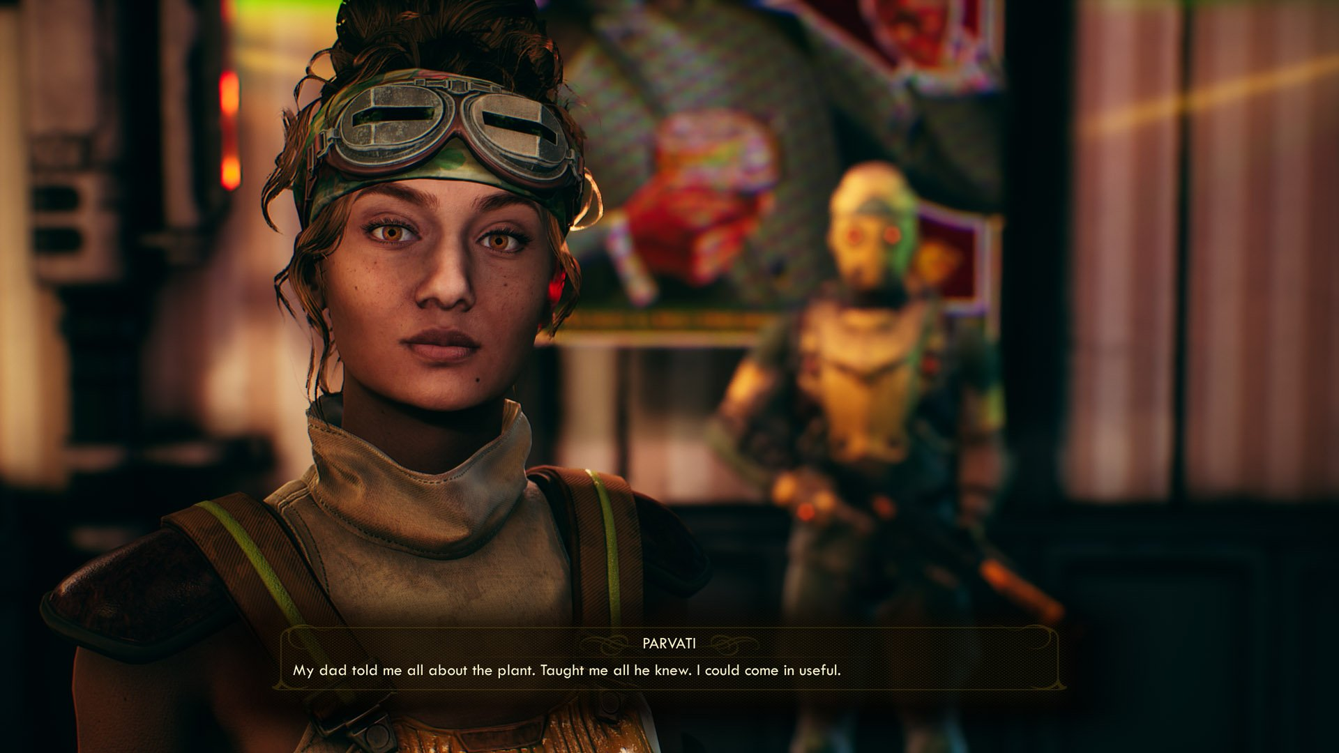 Parvati Companion The Outer Worlds