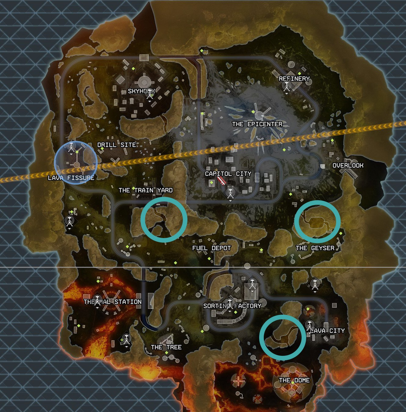 Apex Legends Vault locations