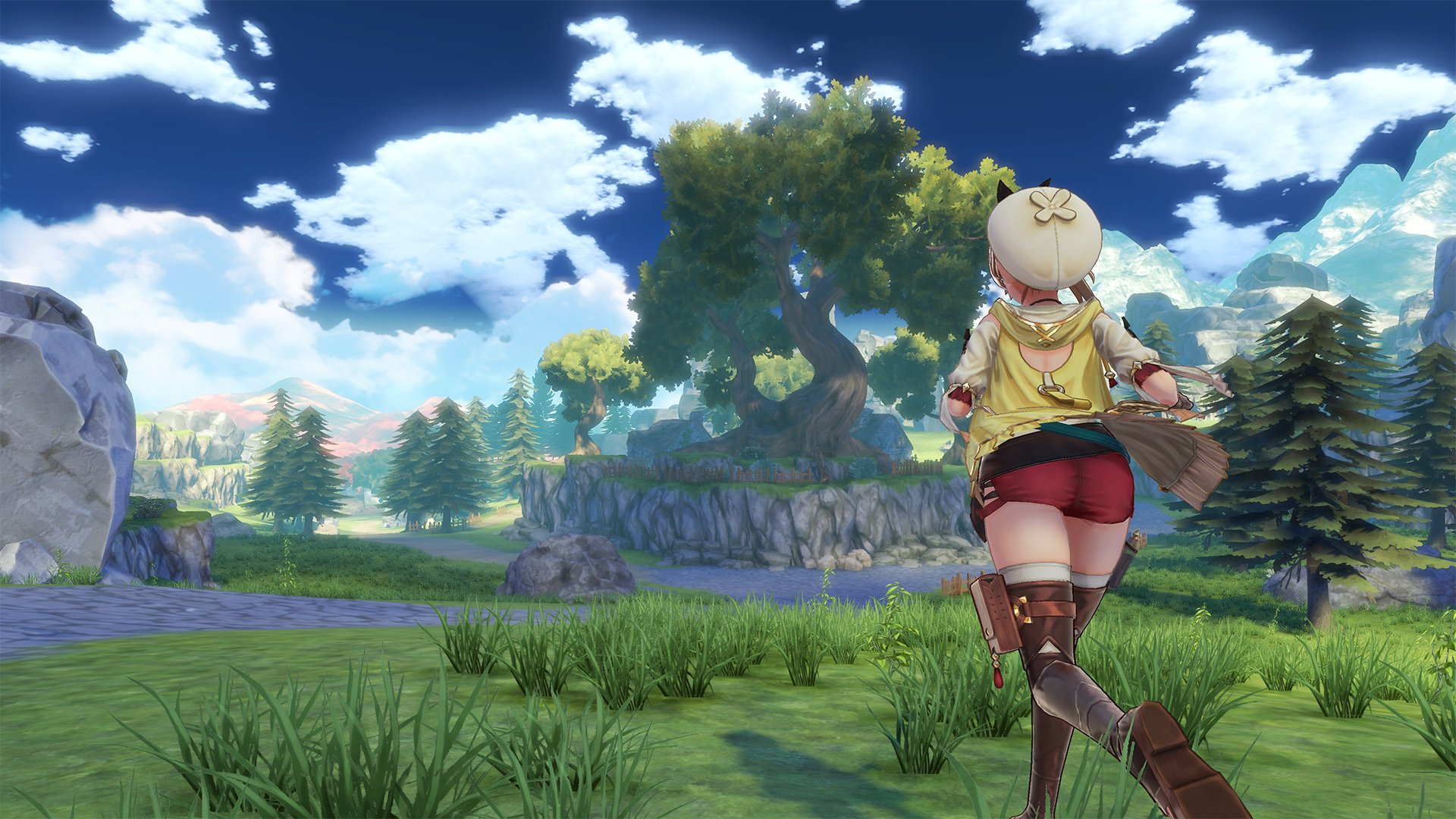 Heading Atelier Ryza: Ever Darkness & the Secret Hideoutoff on a coming of age adventure in
