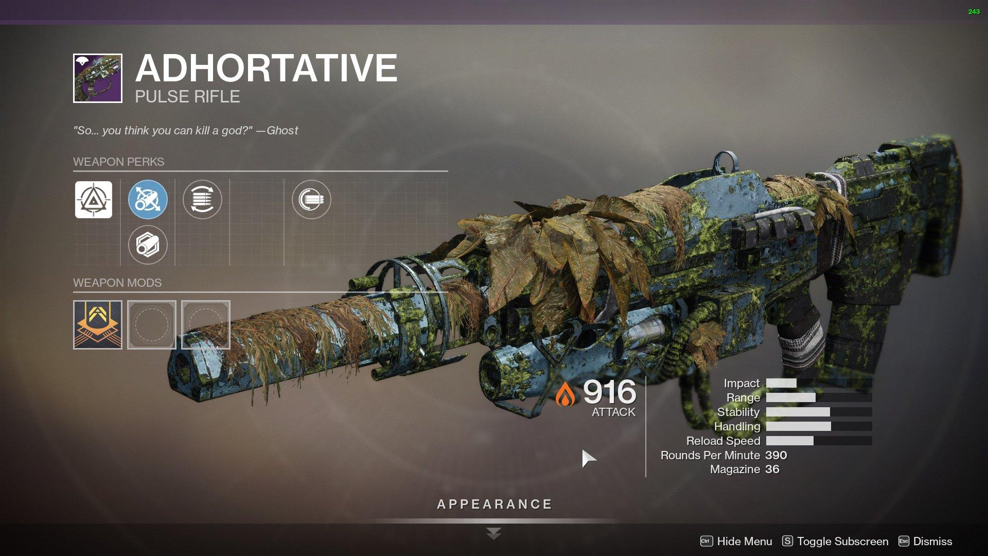 Destiny 2 Adhortative