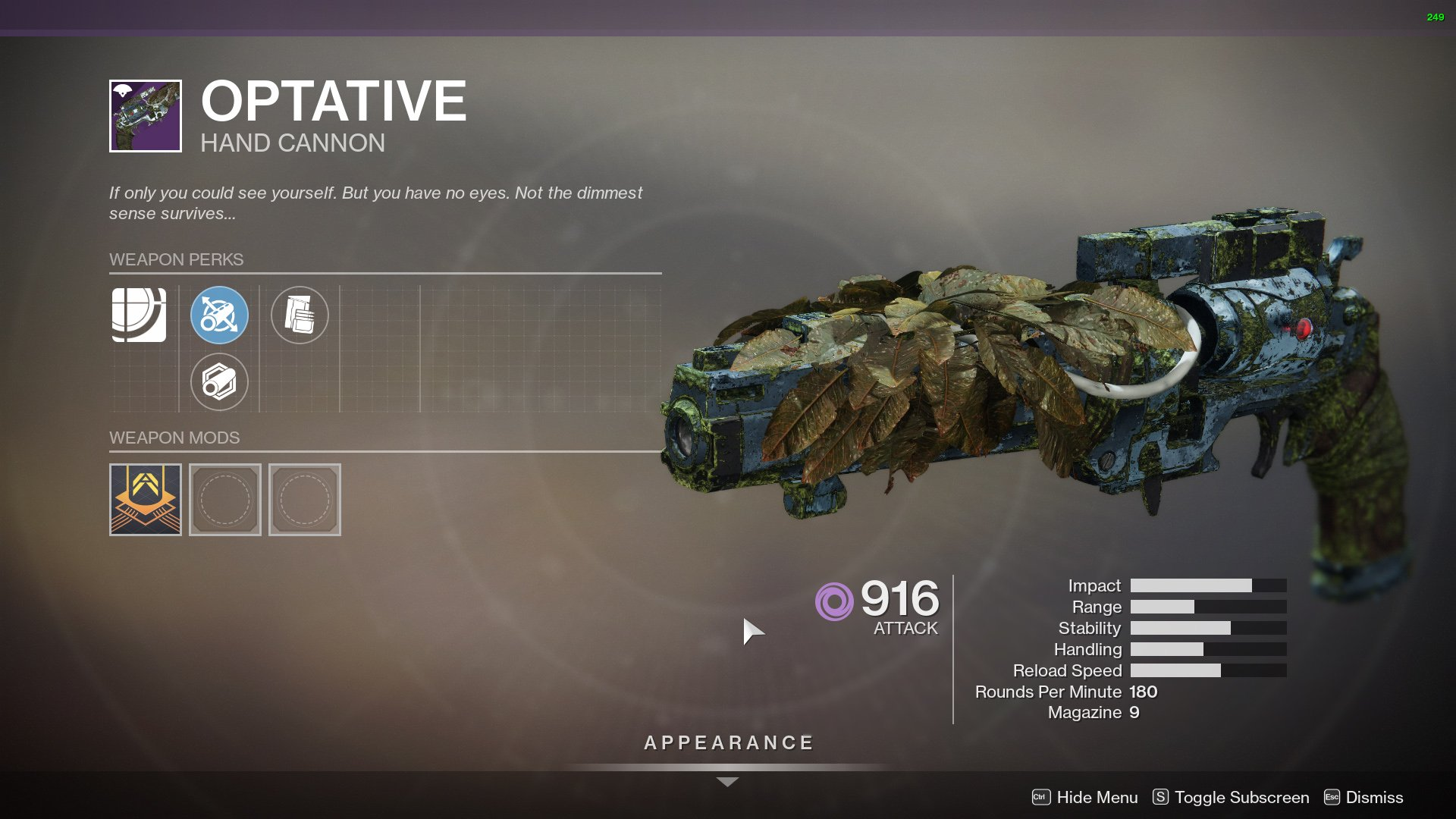 Destiny 2 Optative