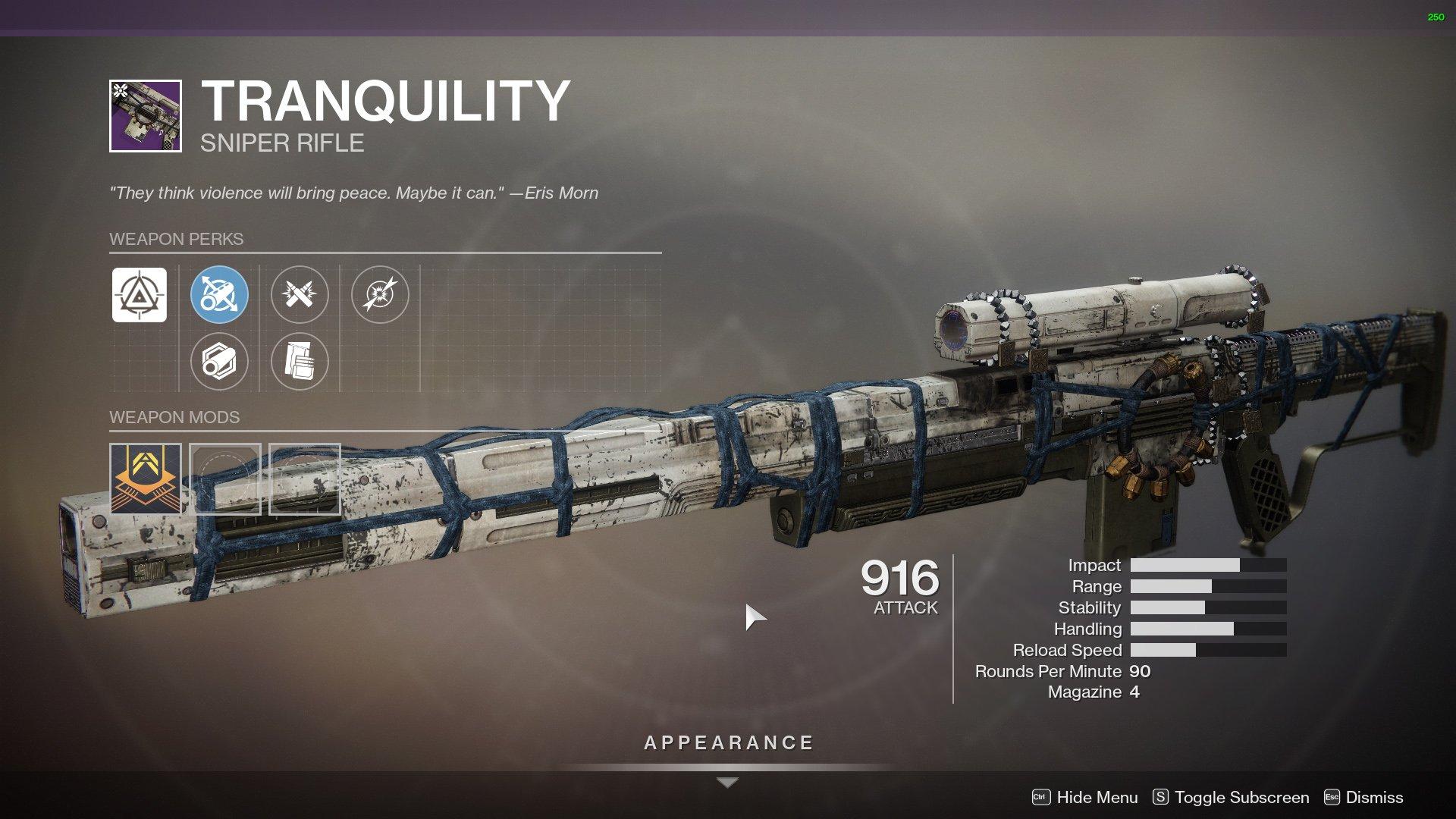 Destiny 2 Tranquility