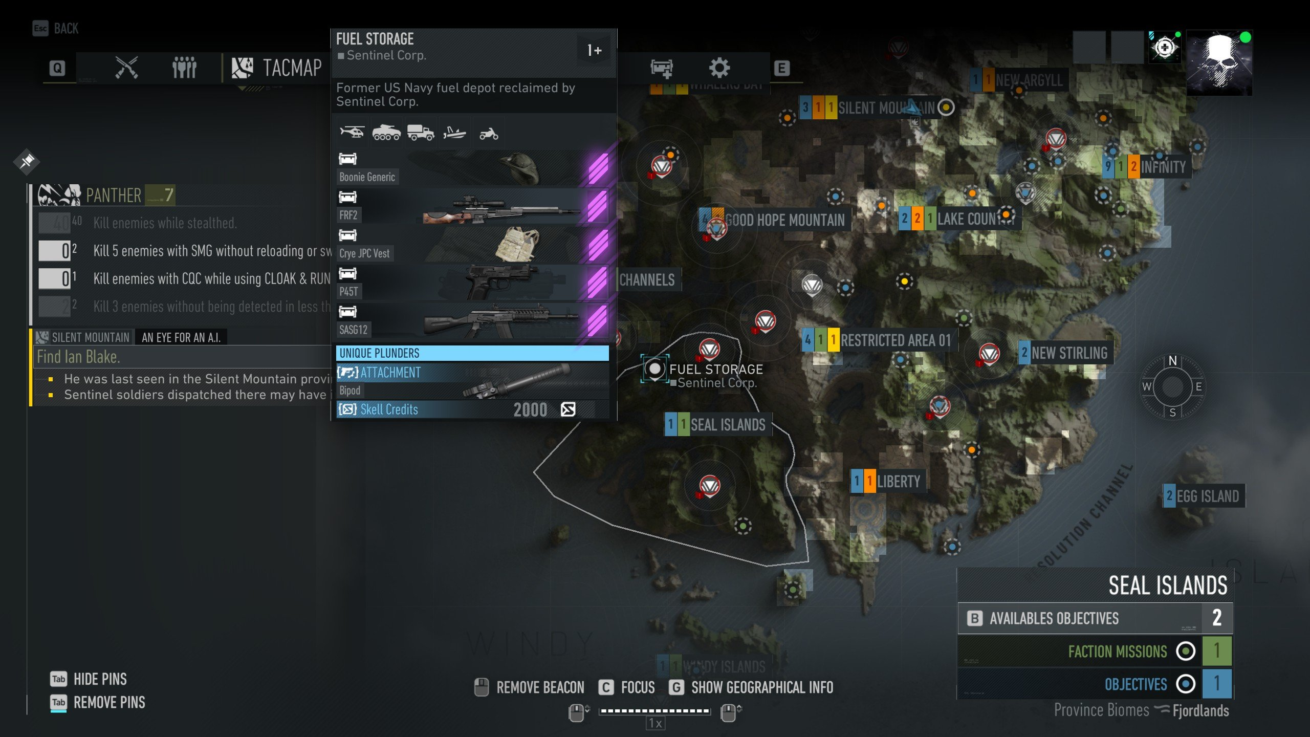 Bipod Location Ghost Recon Breakpoint