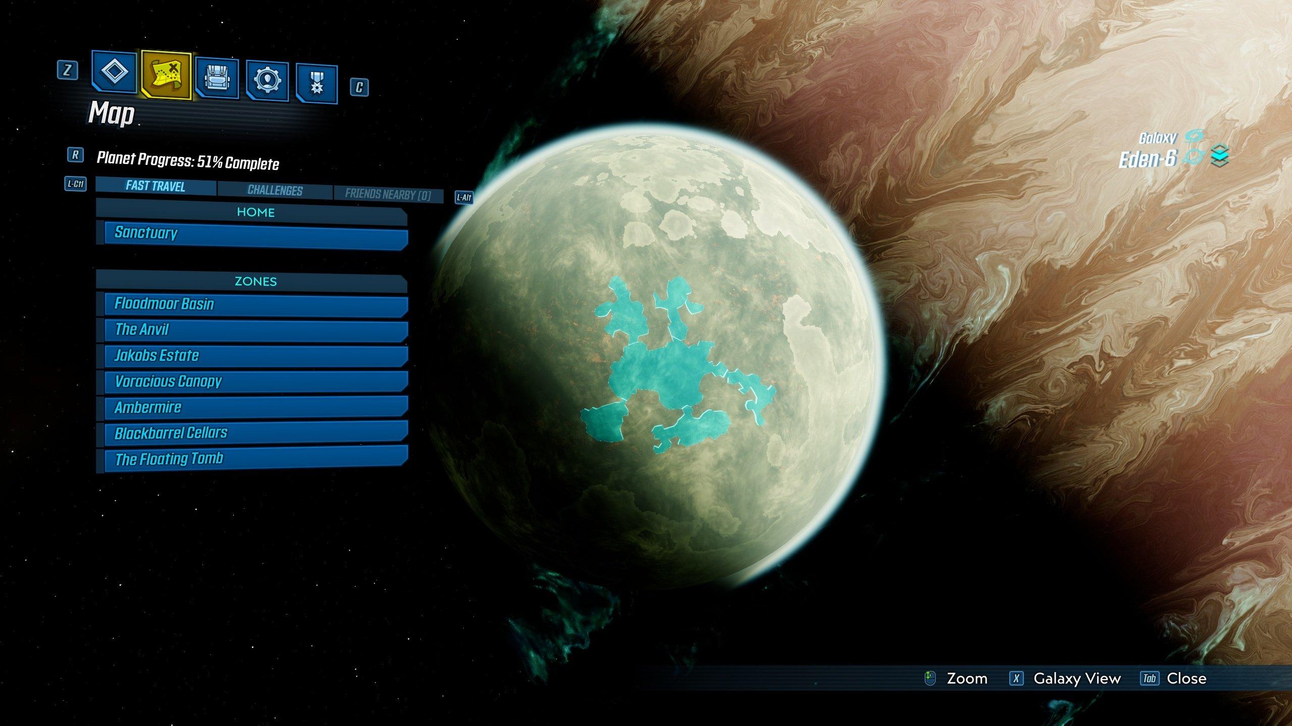 Borderlands 3 Eden-6 side missions