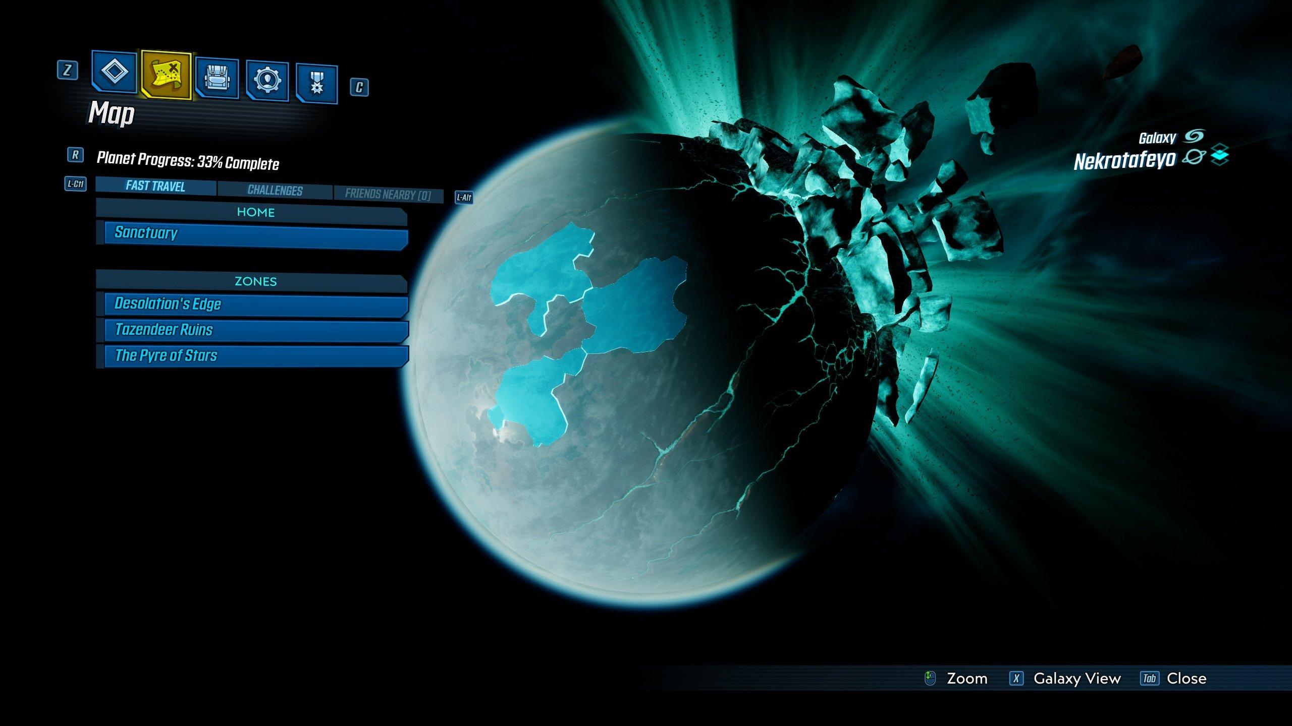 Borderlands 3 Nekrotafeyo side missions
