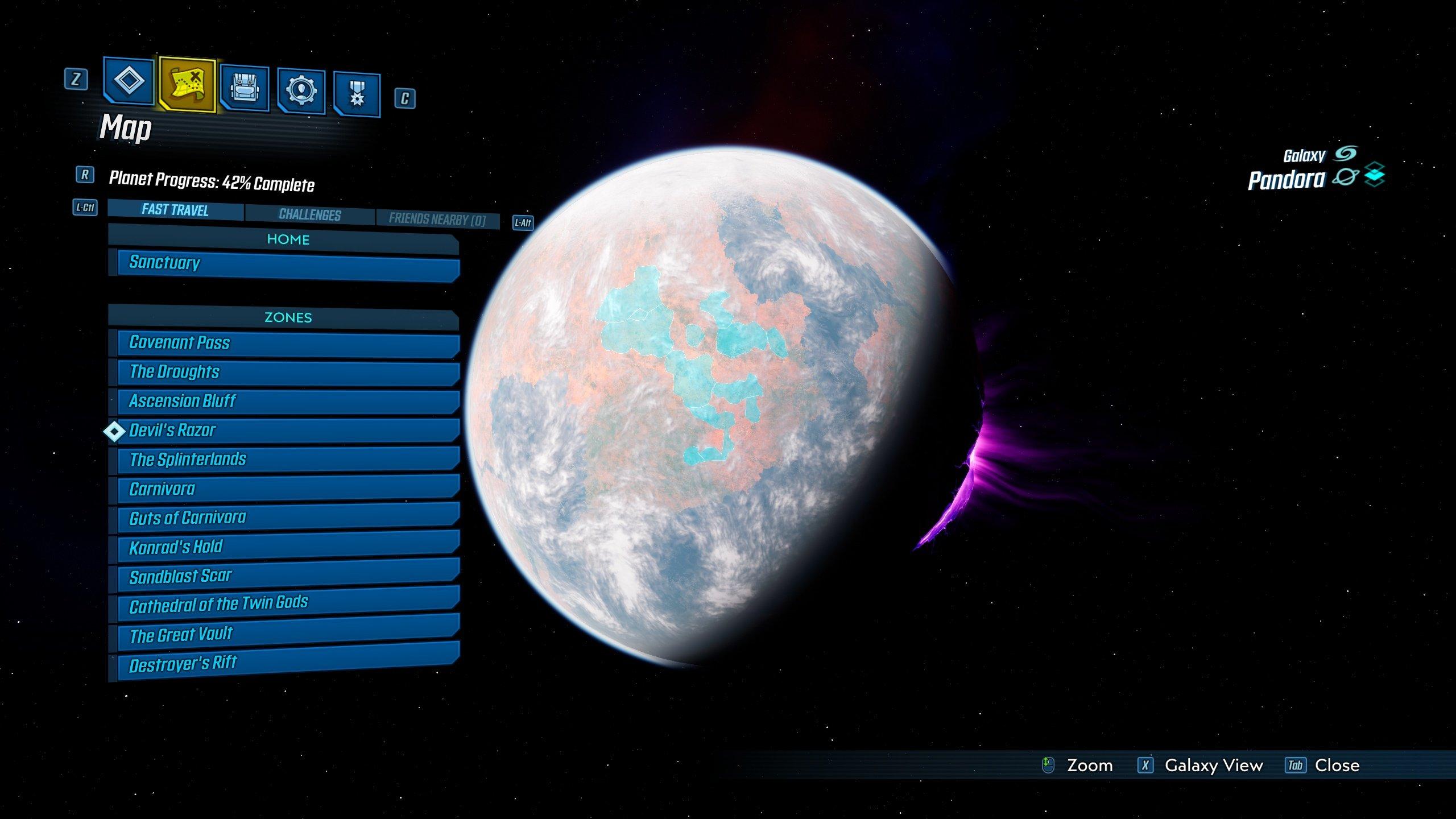 Borderlands 3 pandora side missions